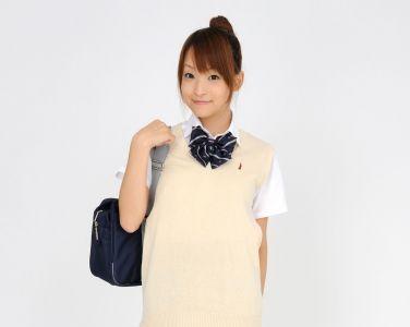 [RQ-STAR美女] NO.0097 Mio Aoki 青木未央 Student Style[78P]