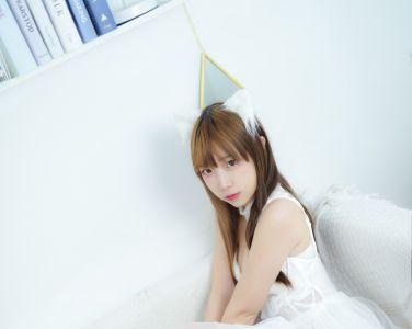 [Cosplay]二佐Nisa - 宠物少女 私房白婚纱[28P]