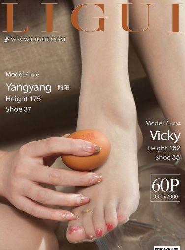 [Ligui丽柜]2020.05.08 网络丽人 Model Vicky&Yangyang[61P]