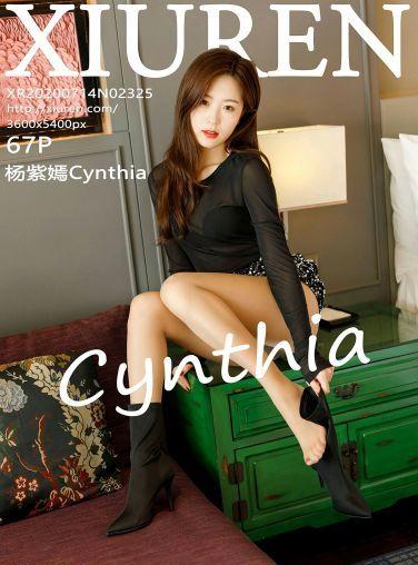 [XiuRen秀人网] 2020.07.14 No.2325 杨紫嫣Cynthia[58P]