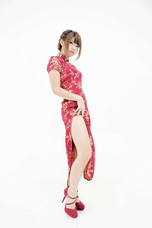 中華娘娘之红色旗袍与美腿高跟[27P] 其他套图 第6张