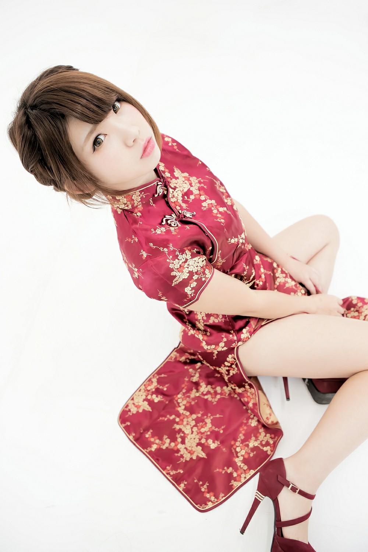 中華娘娘之红色旗袍与美腿高跟[27P] 其他套图 第10张