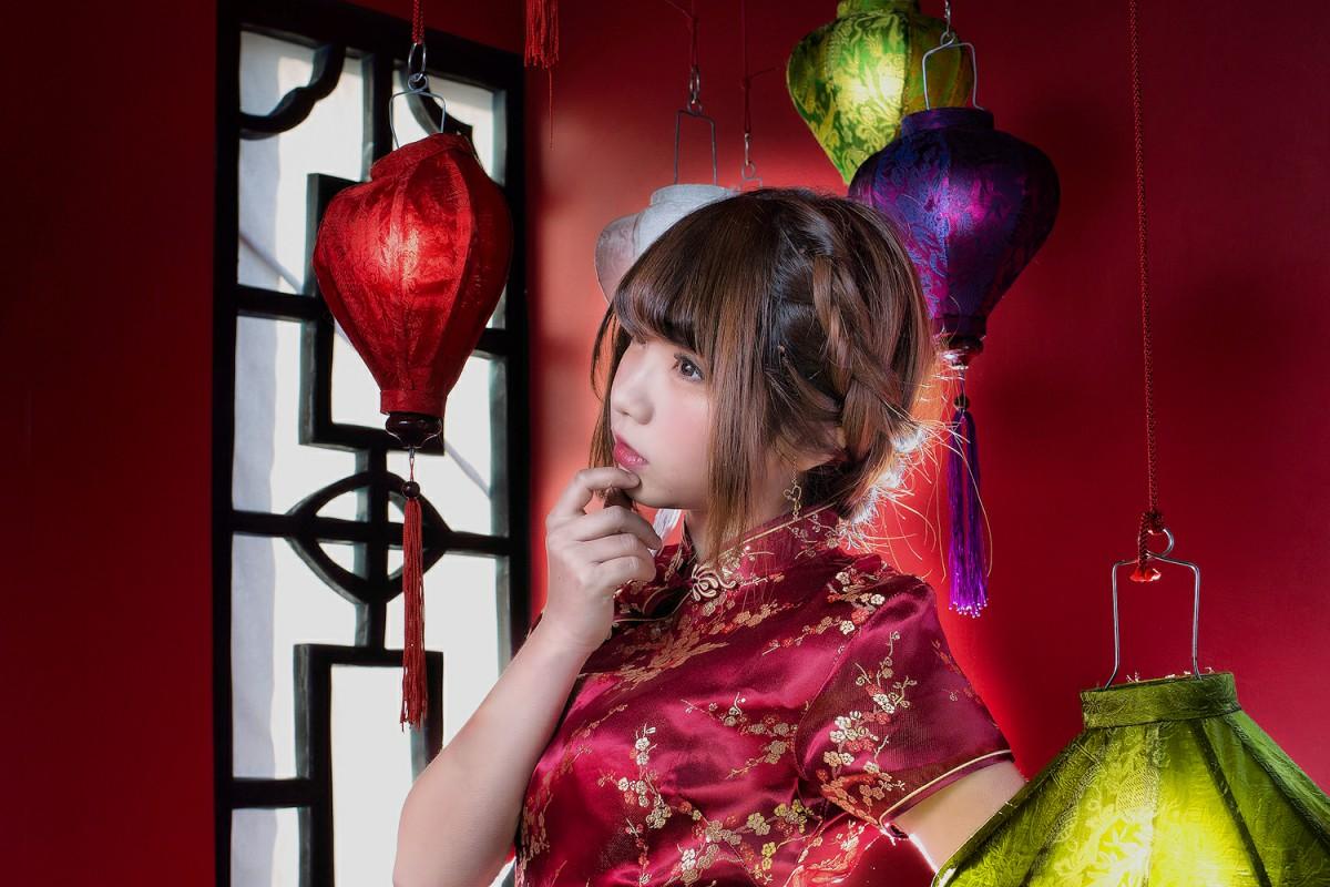 中華娘娘之红色旗袍与美腿高跟[27P] 其他套图 第14张