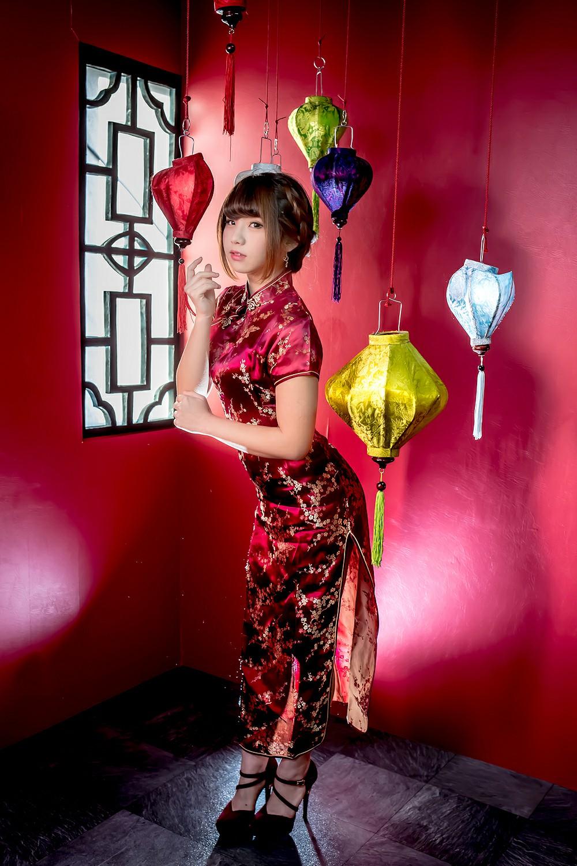 中華娘娘之红色旗袍与美腿高跟[27P] 其他套图 第15张
