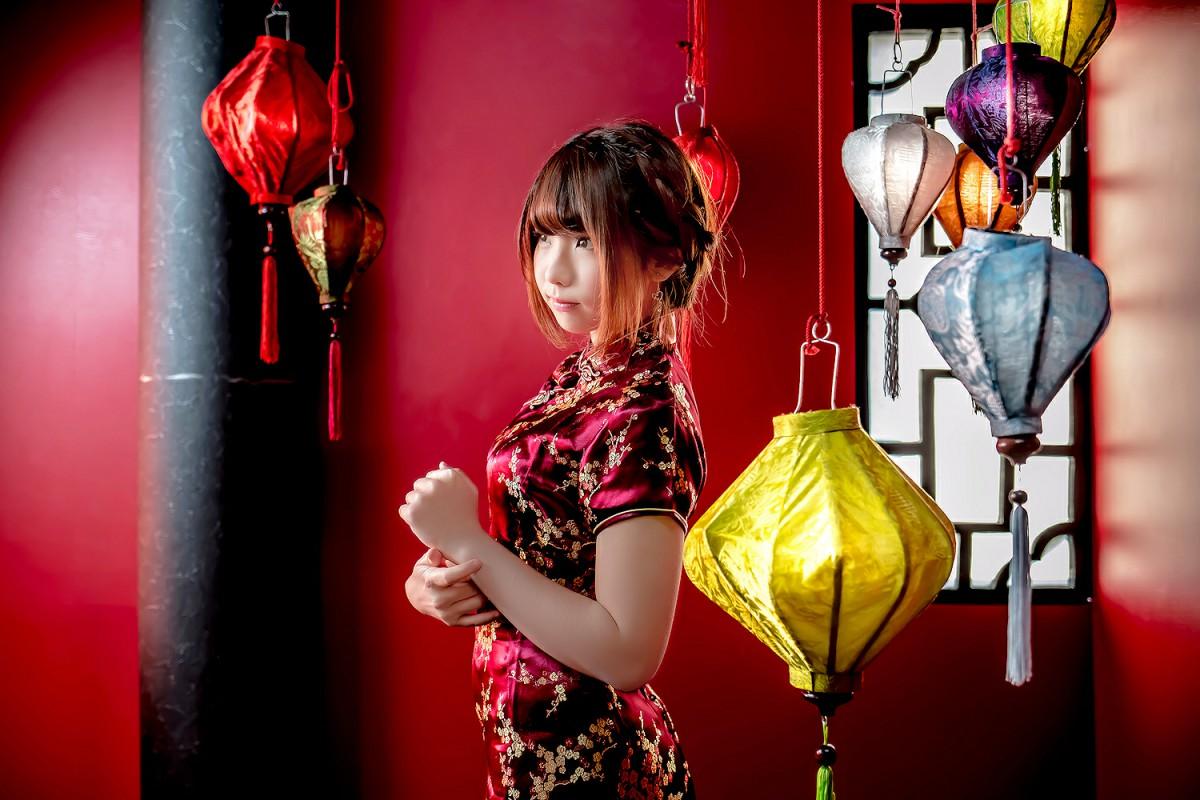 中華娘娘之红色旗袍与美腿高跟[27P] 其他套图 第17张