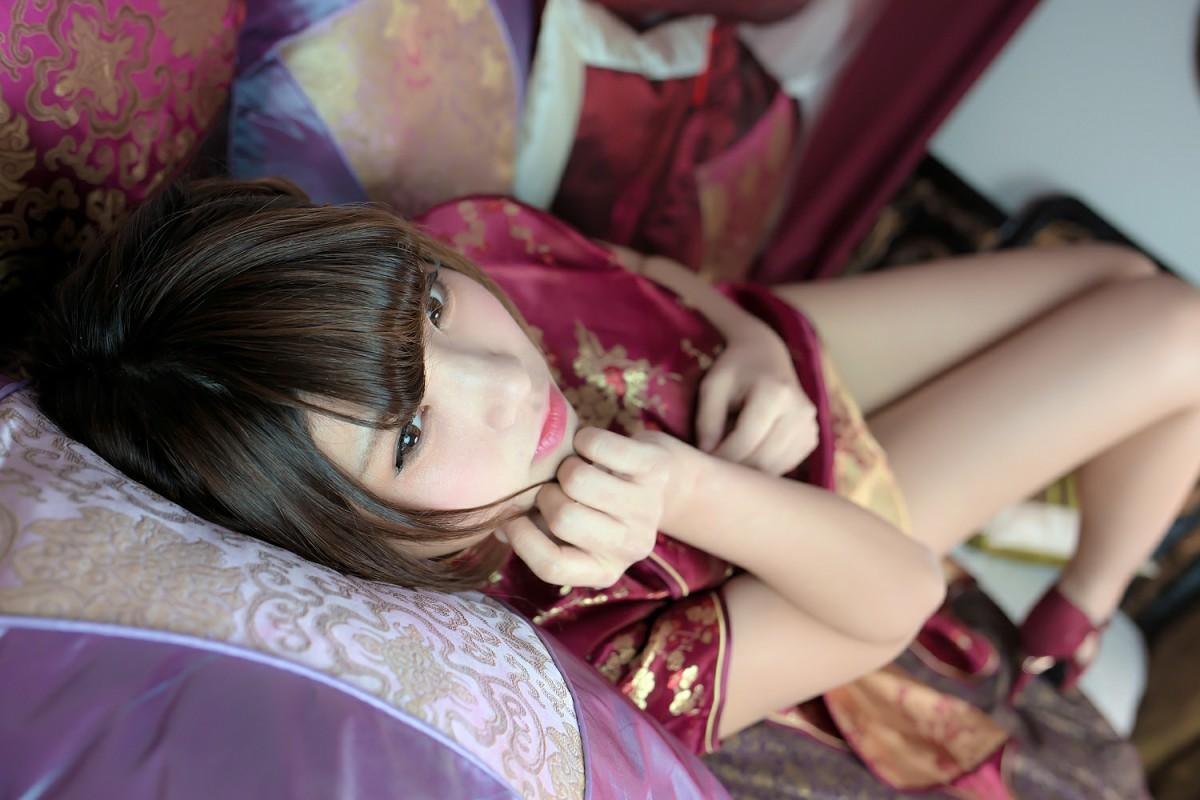 中華娘娘之红色旗袍与美腿高跟[27P] 其他套图 第25张