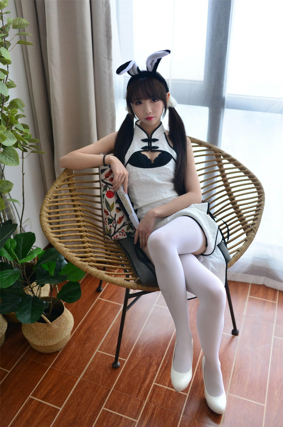 Cos小姐姐雪琪 – 七三旗袍[26P] 角色扮演 第2张