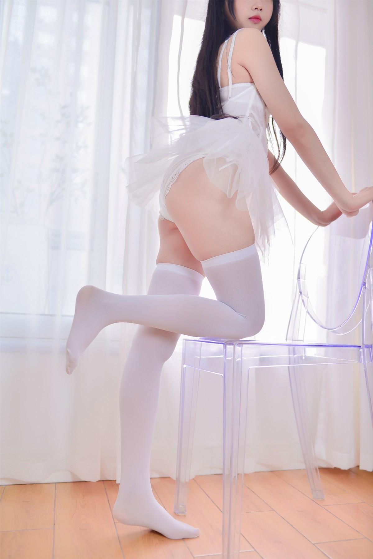 Cos小姐姐雪琪 – 猫系少女白猫[30P] 角色扮演 第2张