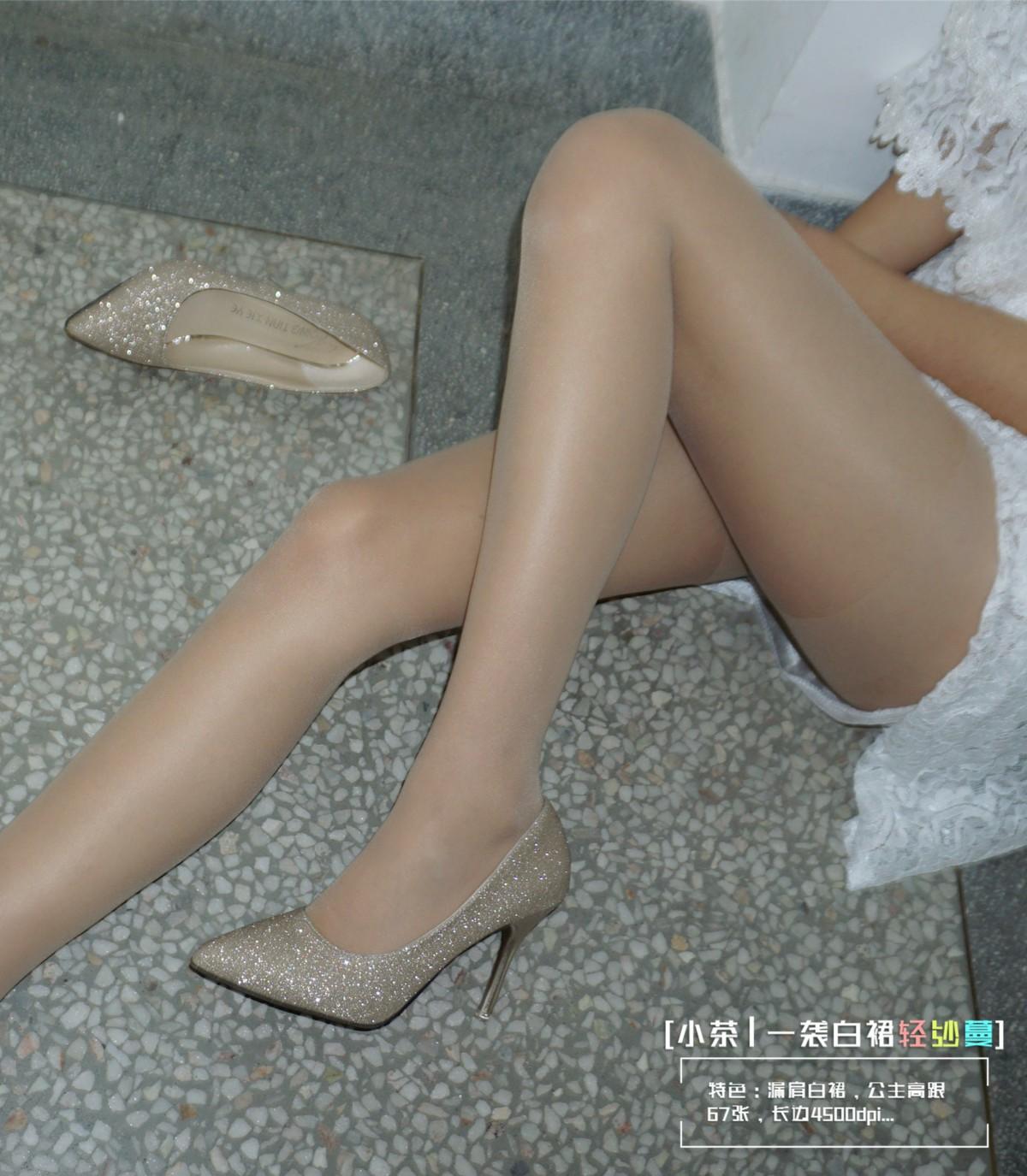 [妖精视觉]小茶 一袭白裙轻纱蔓[68P] 妖精视觉 第3张