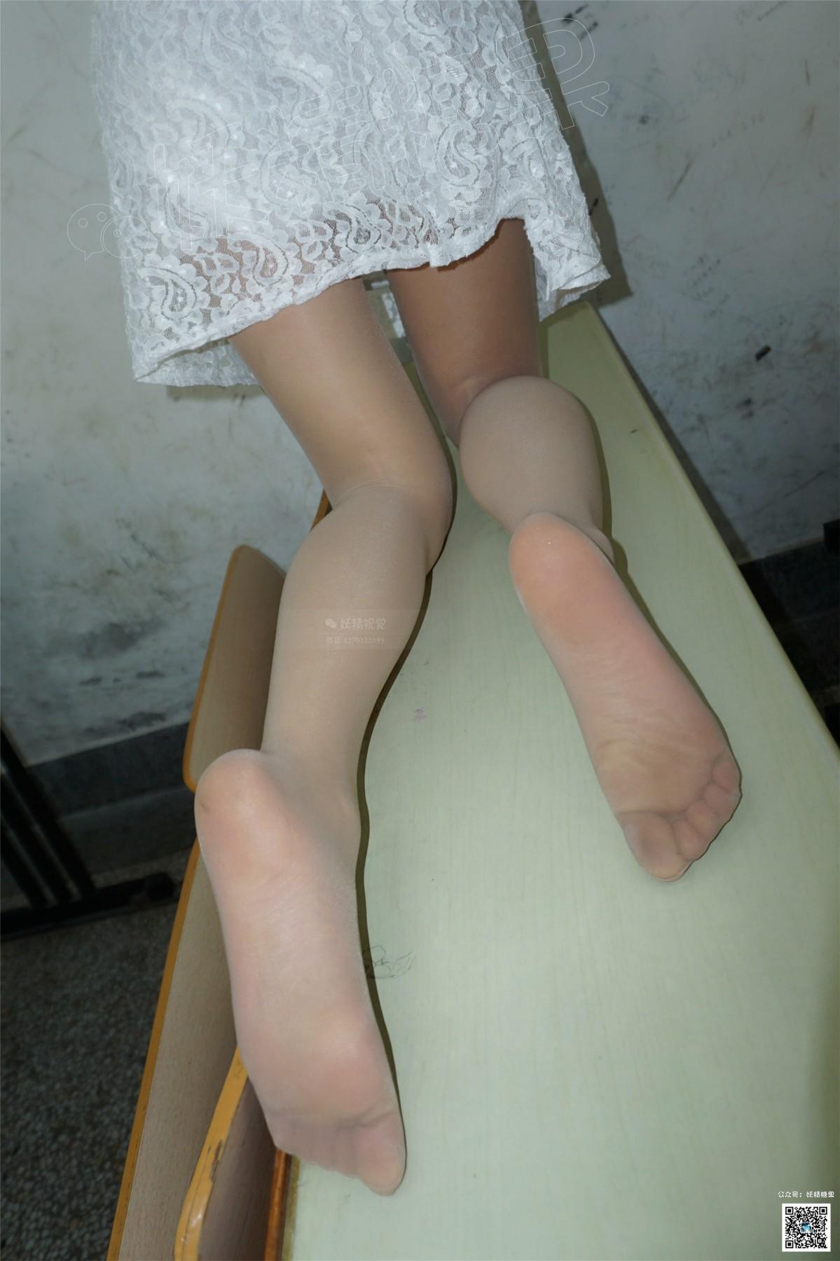 [妖精视觉]小茶 一袭白裙轻纱蔓[68P] 妖精视觉 第4张