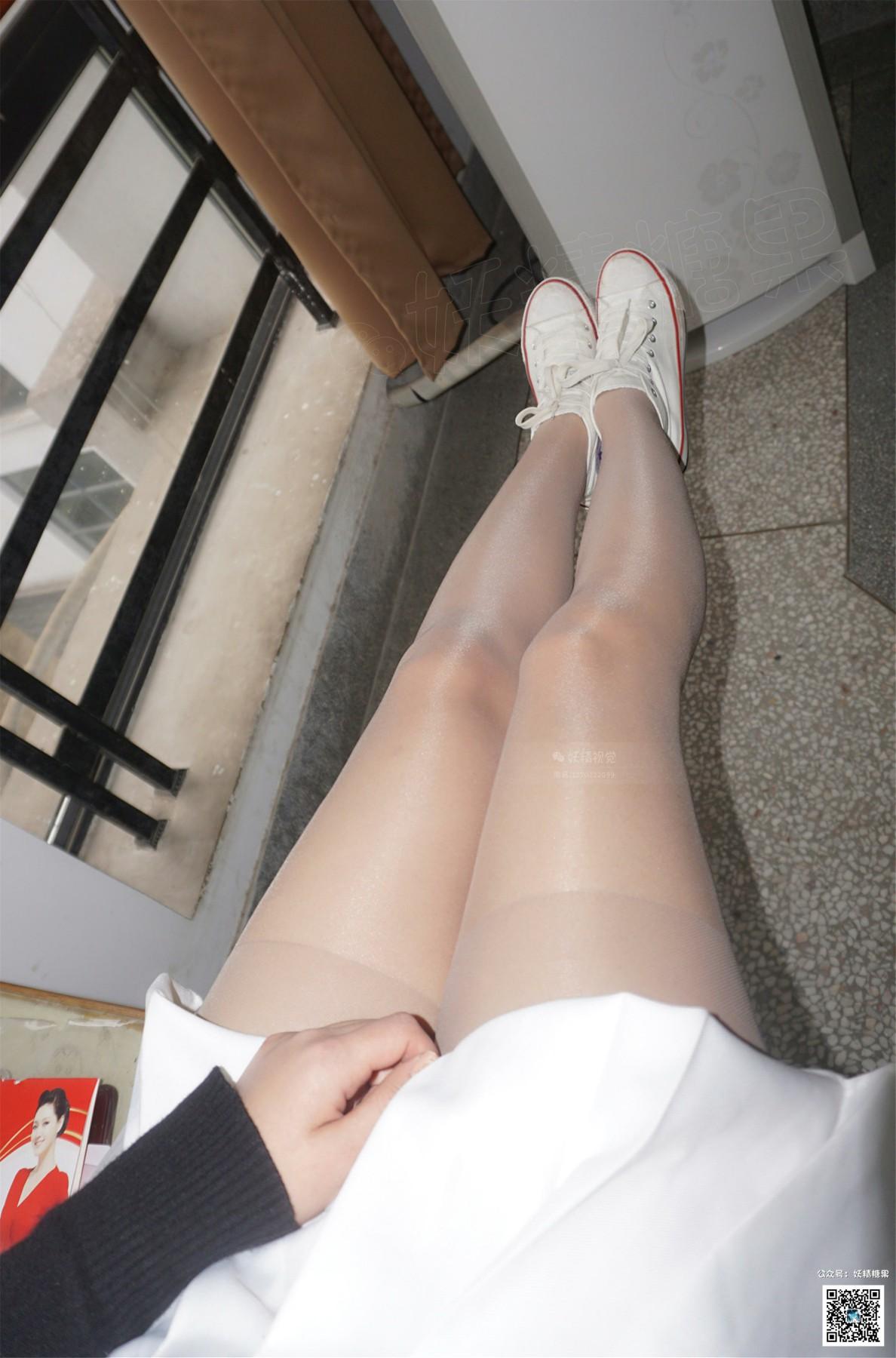 """[妖精视觉]小茶""""卡布奇诺""""深肤色丝袜[66P] 妖精视觉 第3张"""