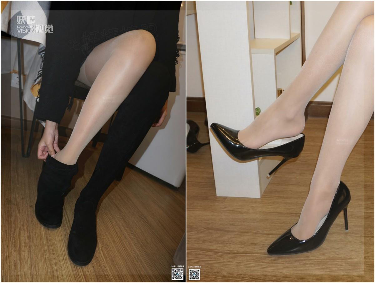 [妖精视觉]nono 长靴高跟肉丝袜[62P] 妖精视觉 第3张