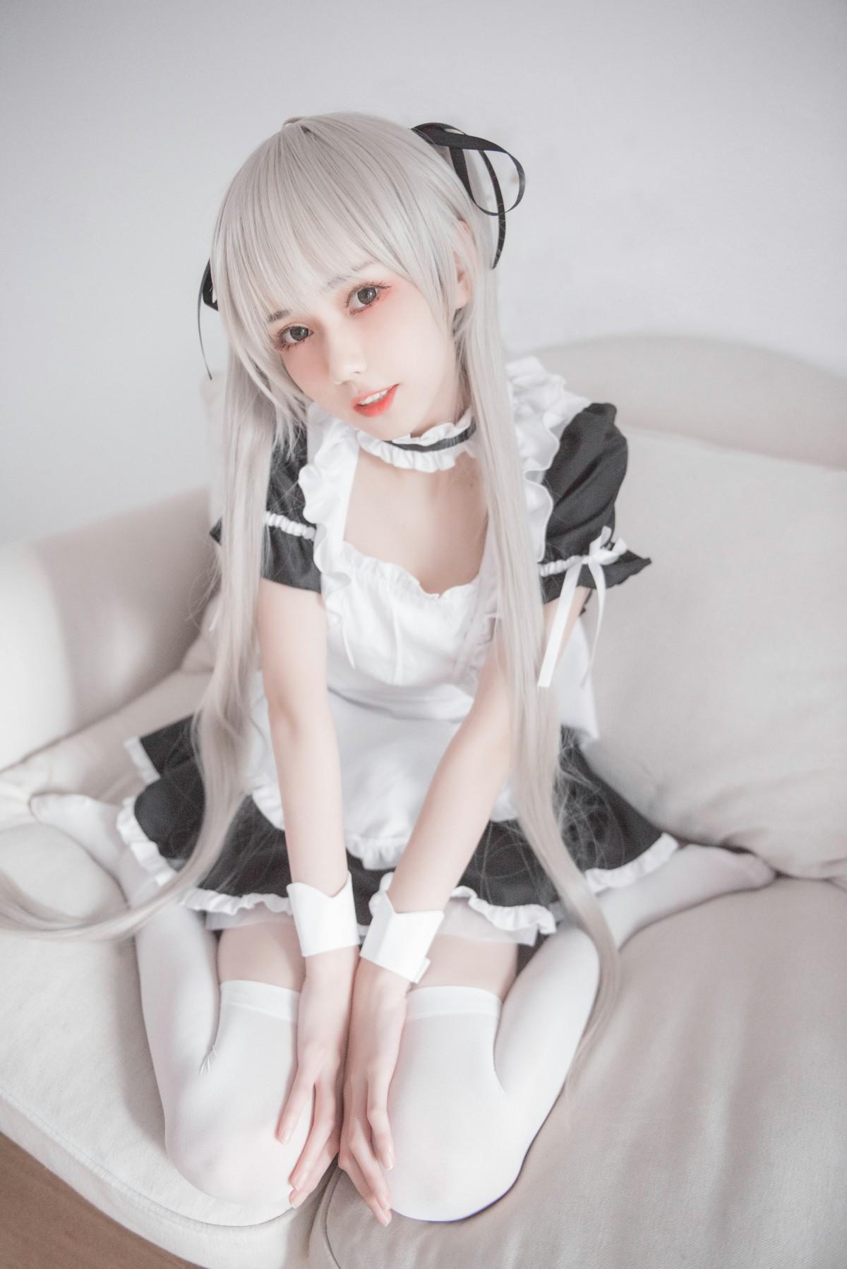 [Cosplay]你的负卿 穹妹女仆兔女郎[30P] 角色扮演 第1张