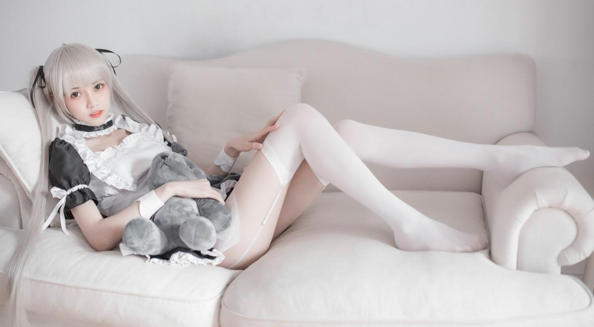 [Cosplay]你的负卿 穹妹女仆兔女郎[30P] 角色扮演 第2张