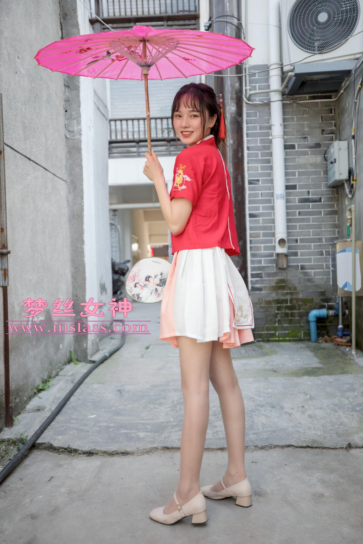 [MSLASS]梦丝女神 玥玥 长城古风少女[97P] 梦丝女神 第2张