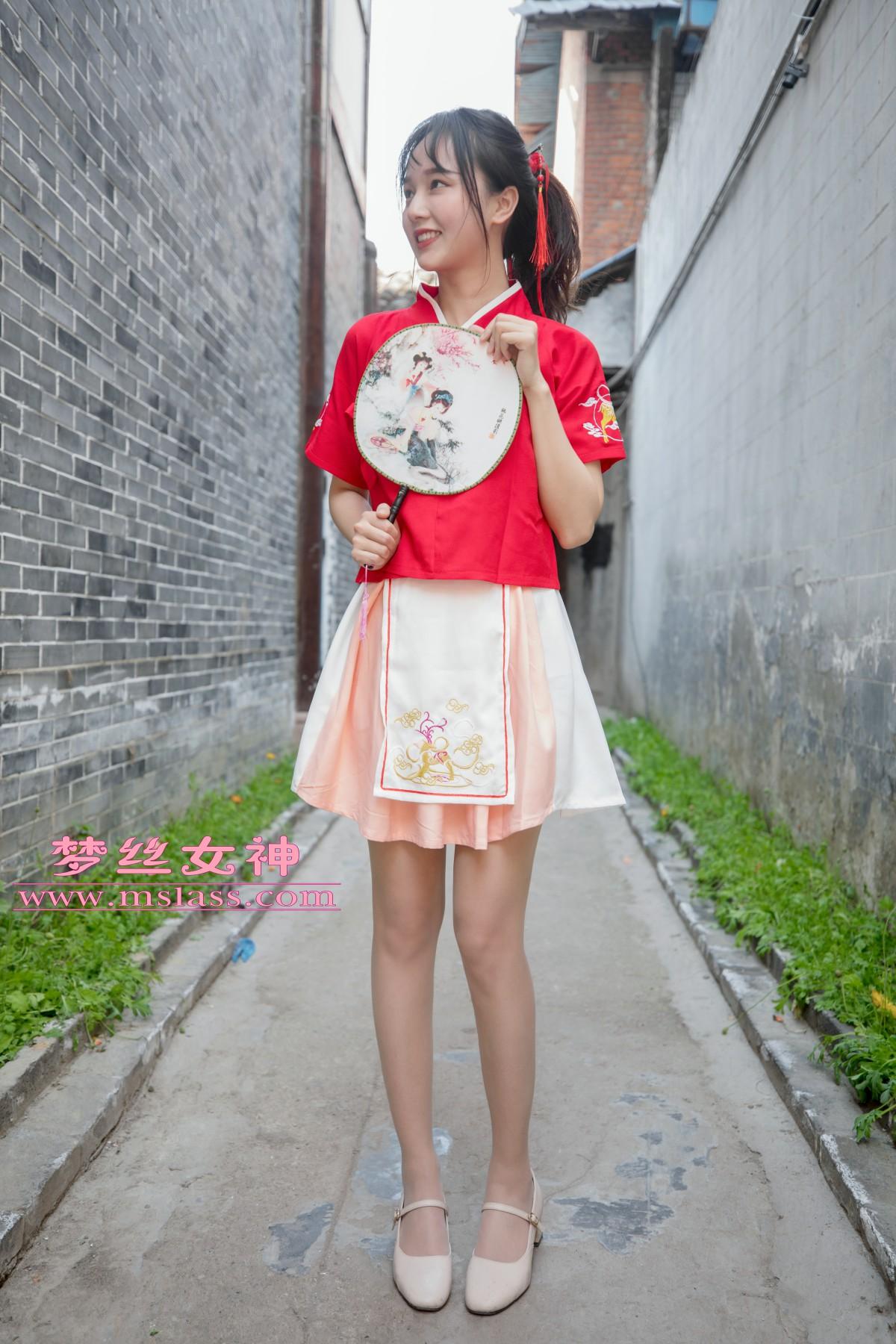 [MSLASS]梦丝女神 玥玥 长城古风少女[97P] 梦丝女神 第3张