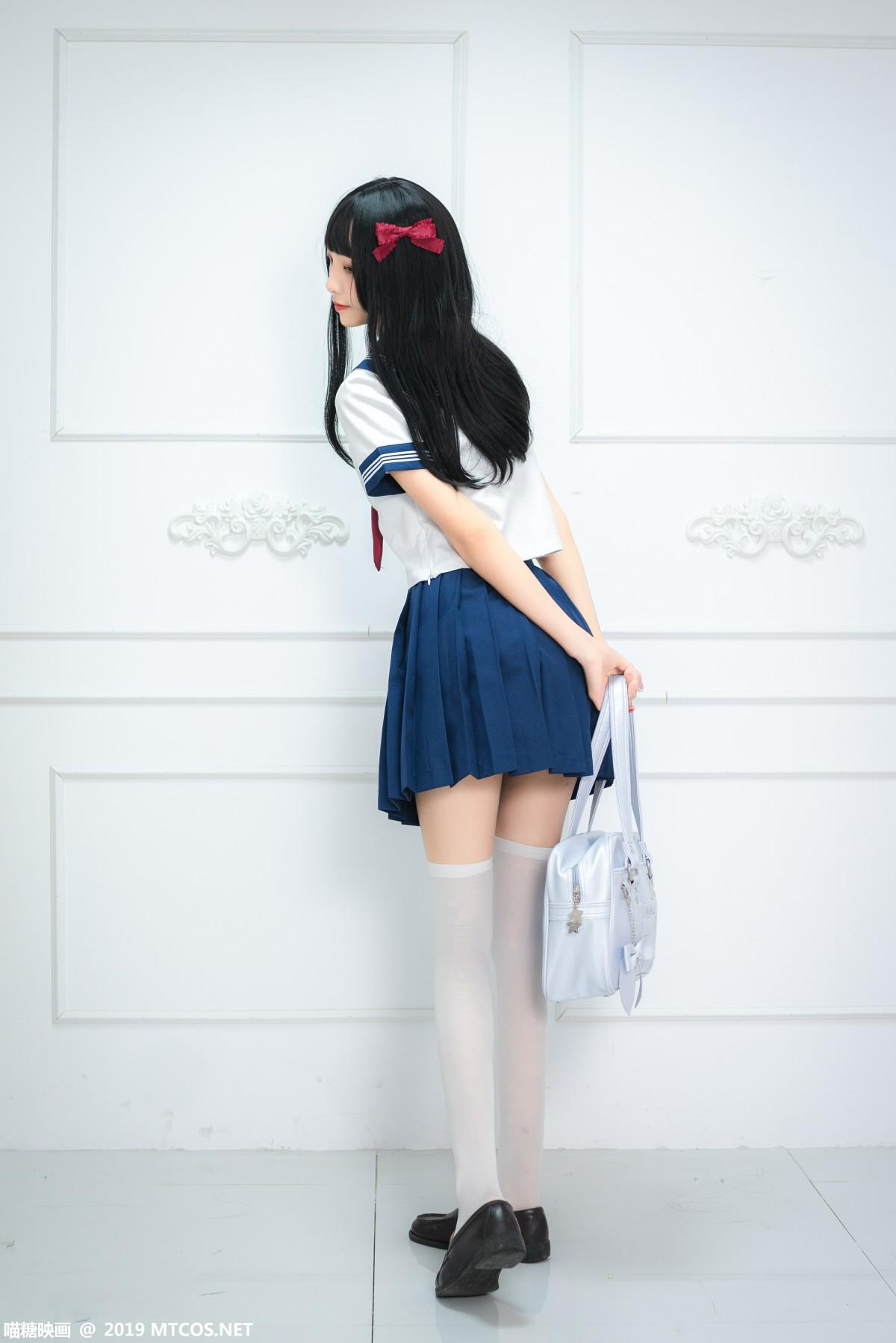 [喵糖映画]VOL.012 蓝白水手服[44P] 喵糖映画 第3张