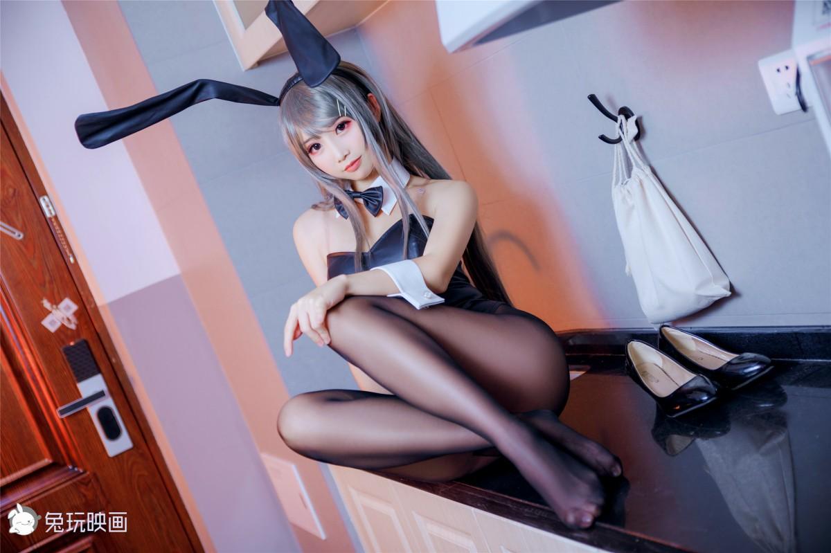 兔玩映画系列 Vol.096 – 爱宕和兔女郎学姐