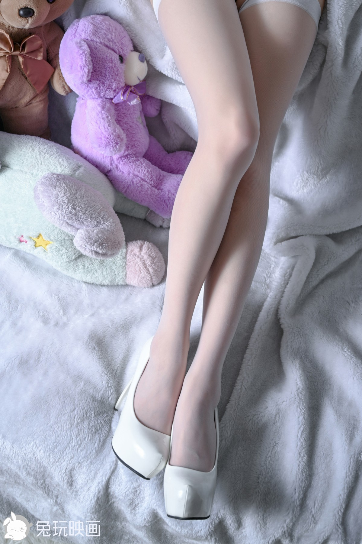兔玩映画 白丝高跟鞋[40P] 兔玩映画 第1张