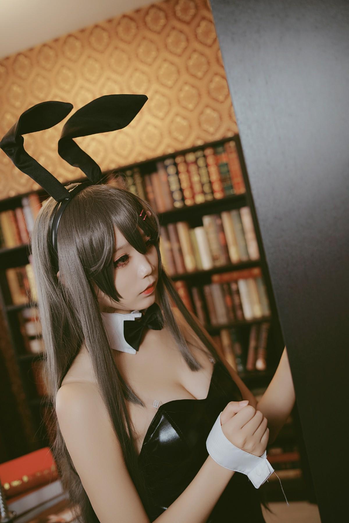 [Cosplay][五更百鬼]樱岛麻衣兔女郎[38P] 角色扮演 第1张