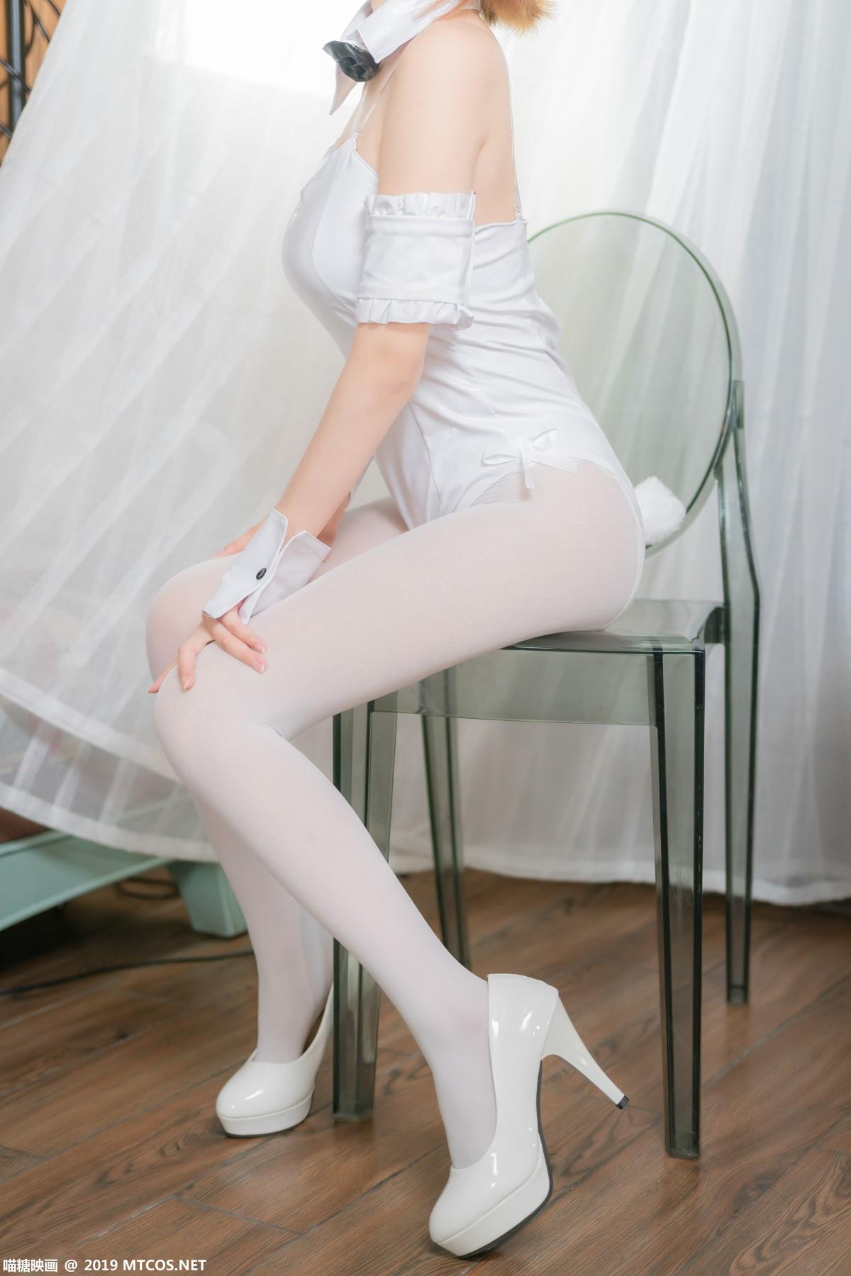 [喵糖映画]VOL.041 白色兔女郎[42P] 喵糖映画 第3张