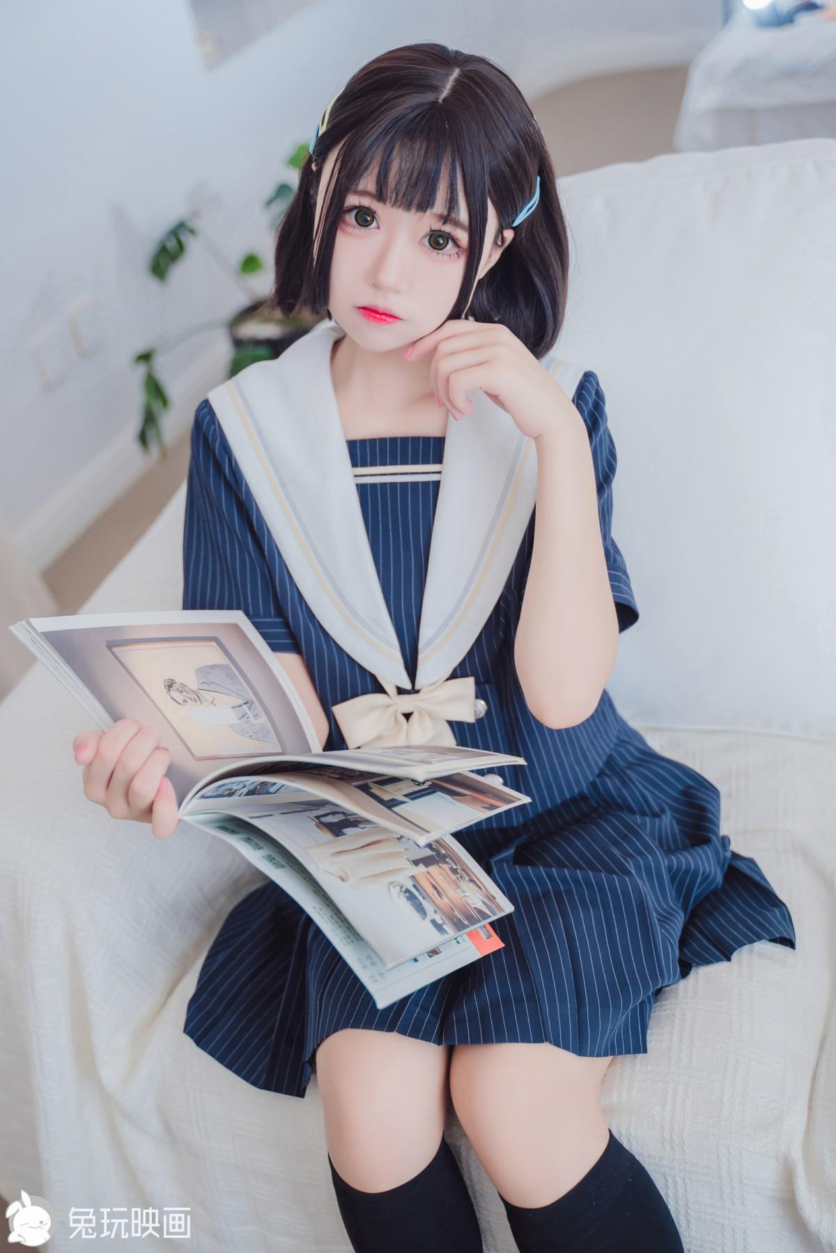 兔玩映画系列 JK制服 Vol.034 清纯学妹[40P] 兔玩映画 第1张