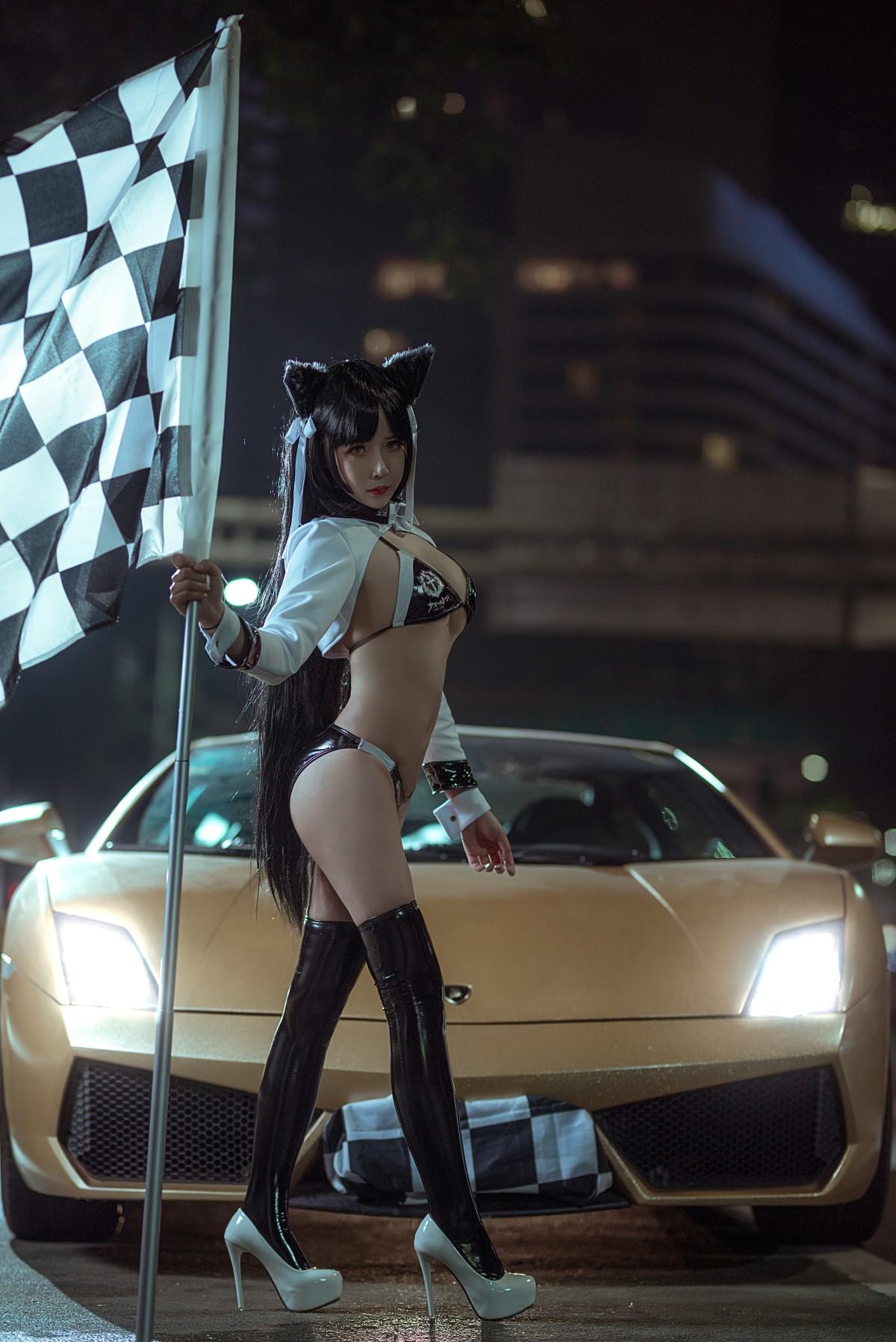 [Cosplay]抱走莫子 赛车女郎[23P] 角色扮演 第1张