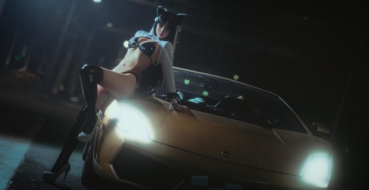 [Cosplay]抱走莫子 赛车女郎[23P] 角色扮演 第3张