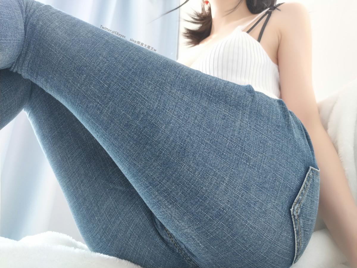 萌妹子眼酱大魔王w 牛仔裤[32P] 其他套图 第3张
