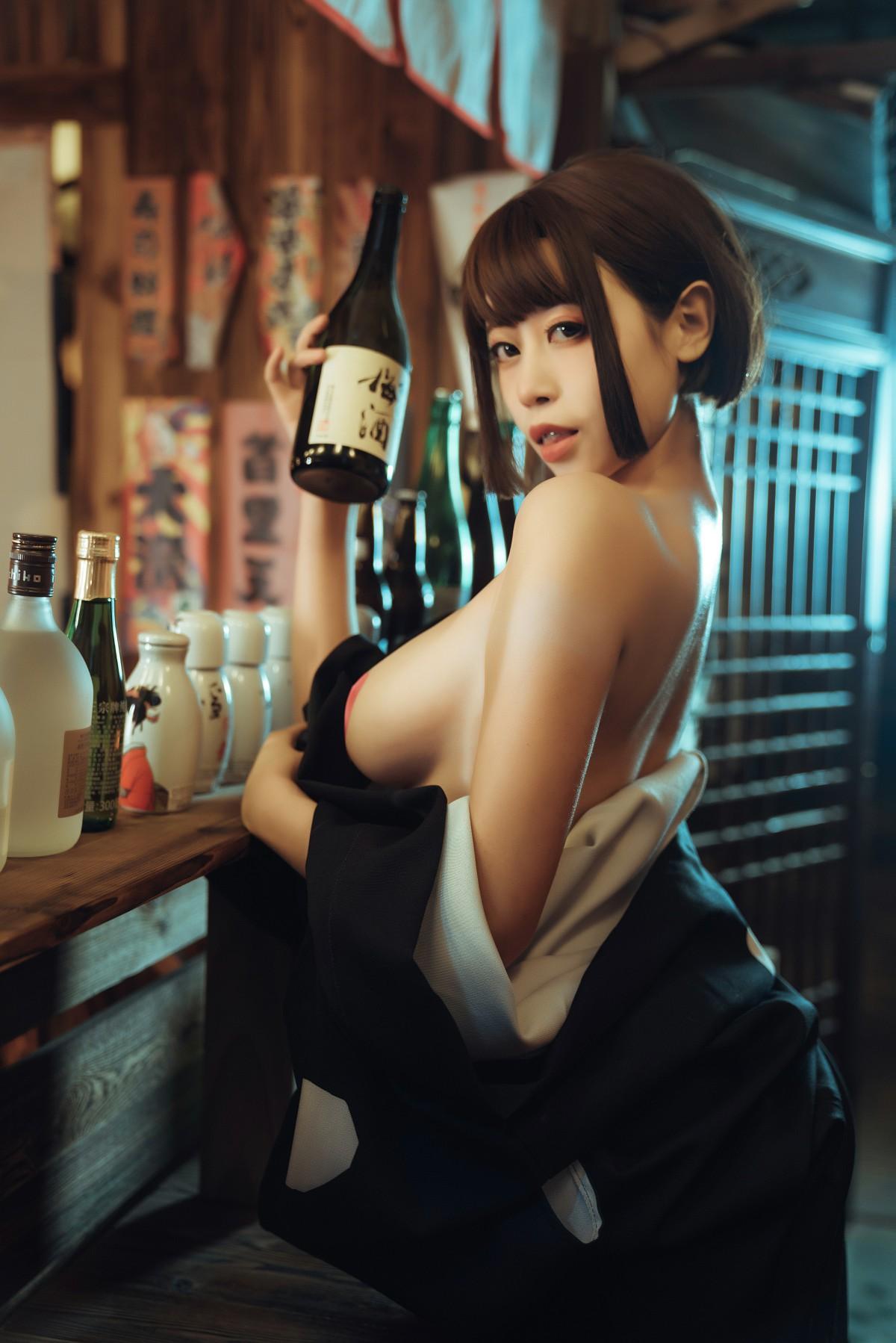 奈汐酱nice 热情老板娘[16P] 其他套图 第3张