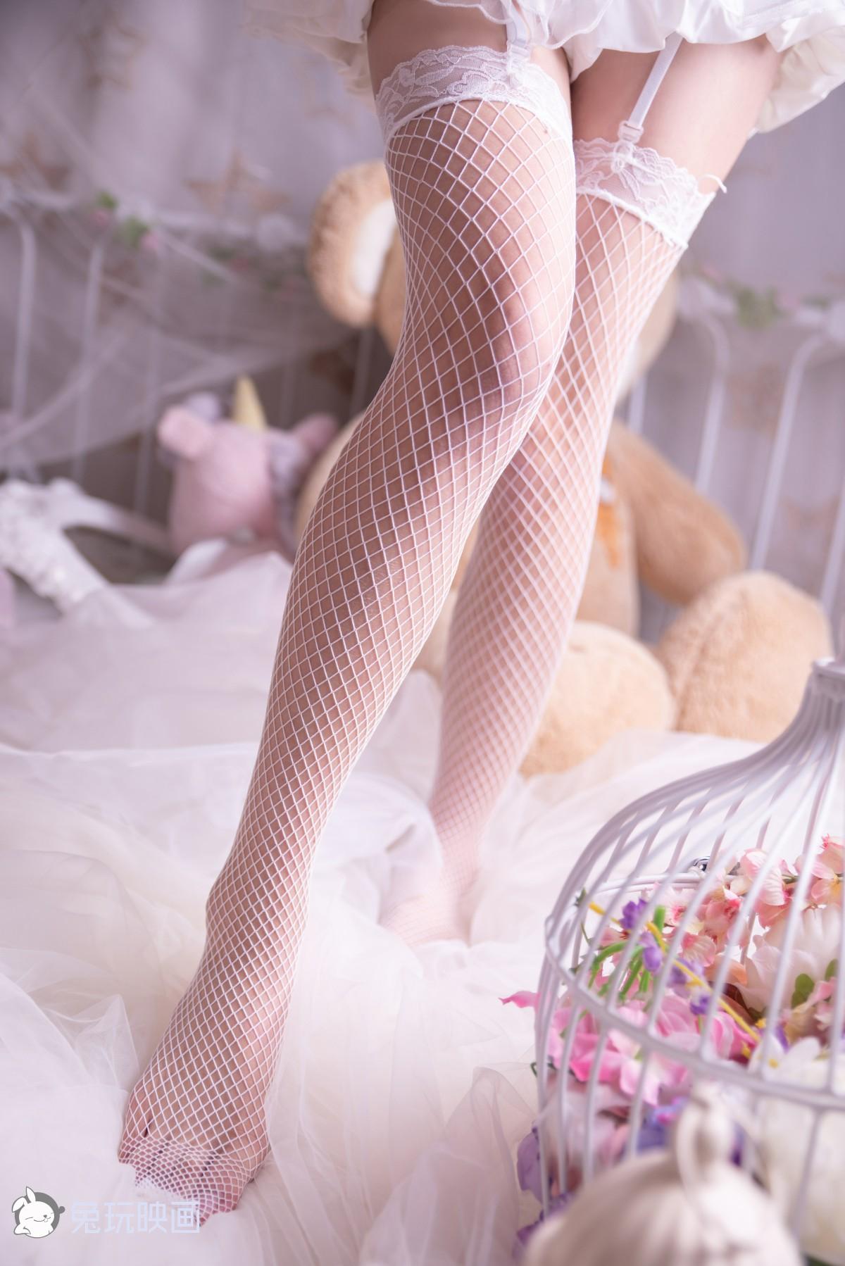 兔玩映画 花嫁白网袜[46P] 兔玩映画 第2张