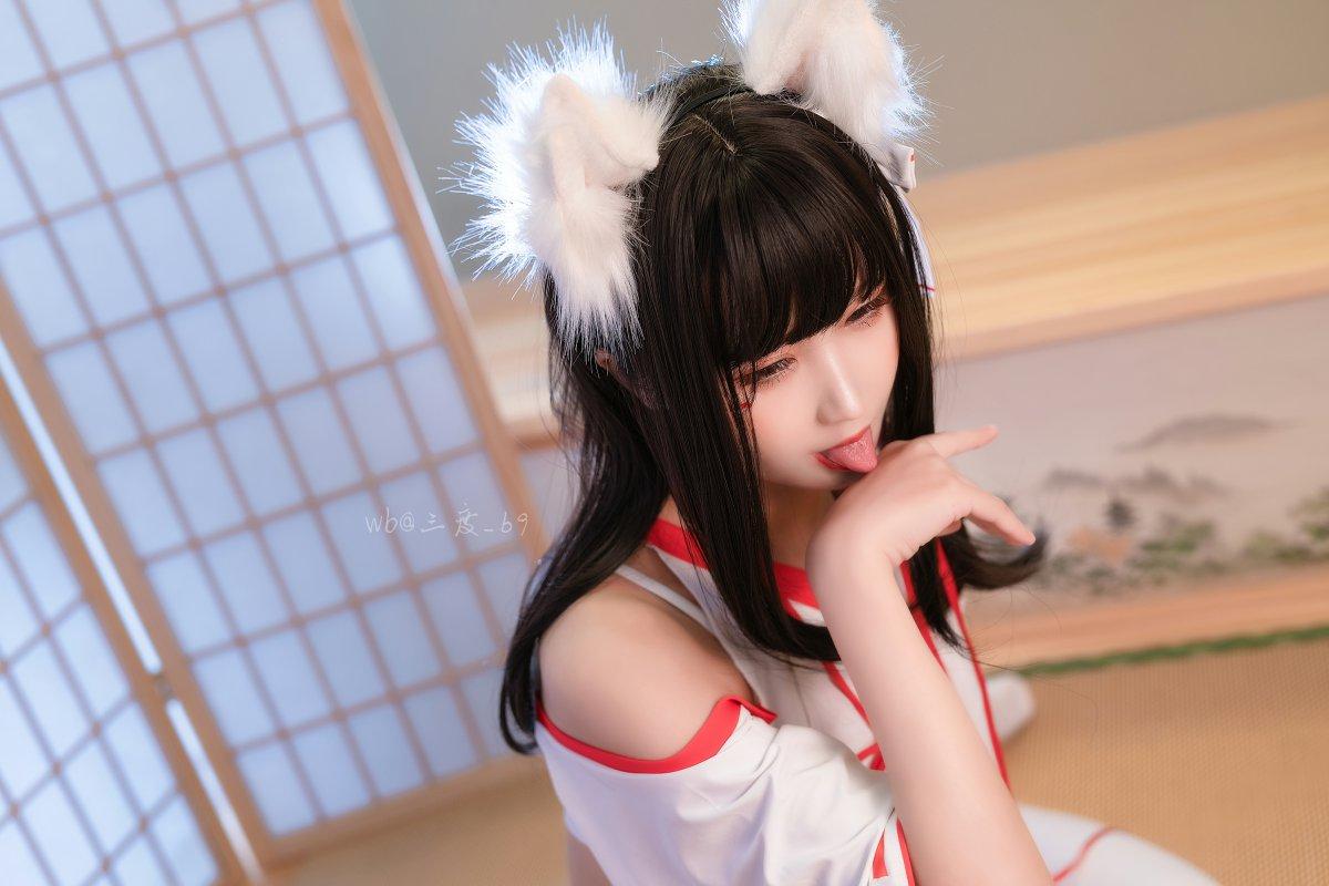 微博妹子三度 69 狐巫女[33P] 其他套图 第4张