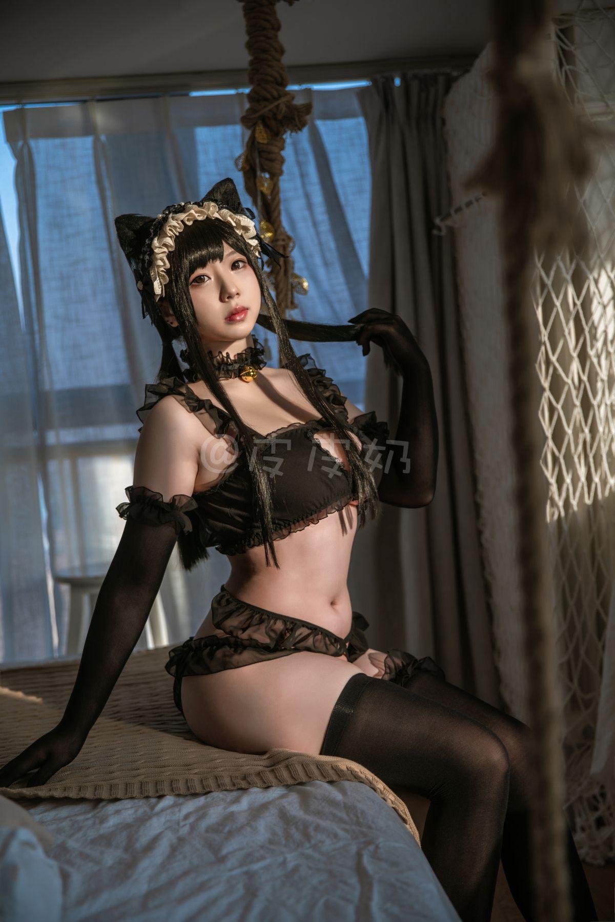 皮皮奶可可爱了啦 黑猫[55P] 其他套图 第4张