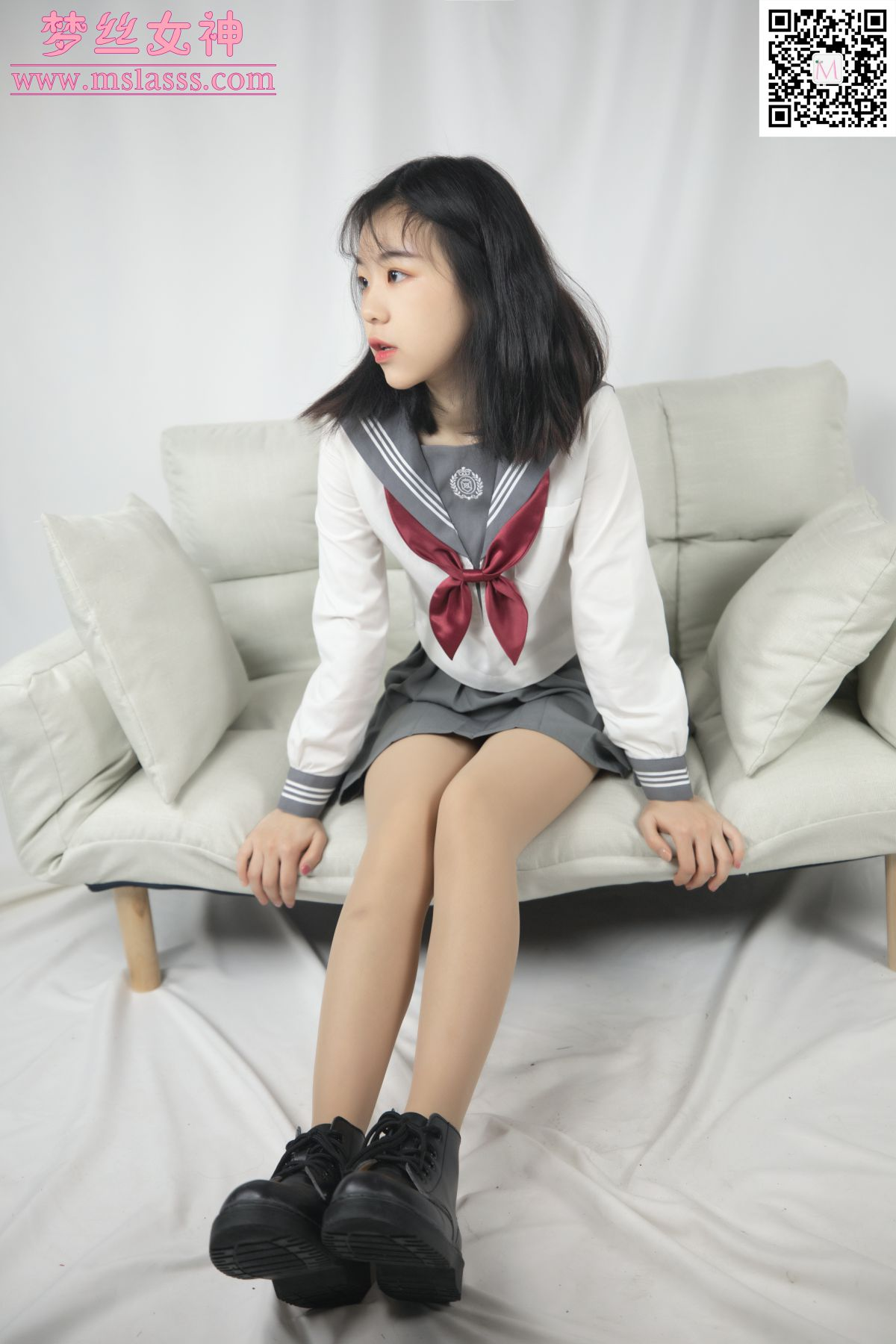 [MSLASS]梦丝女神 奶味小仙女 初恋的味道[73P] 梦丝女神 第4张