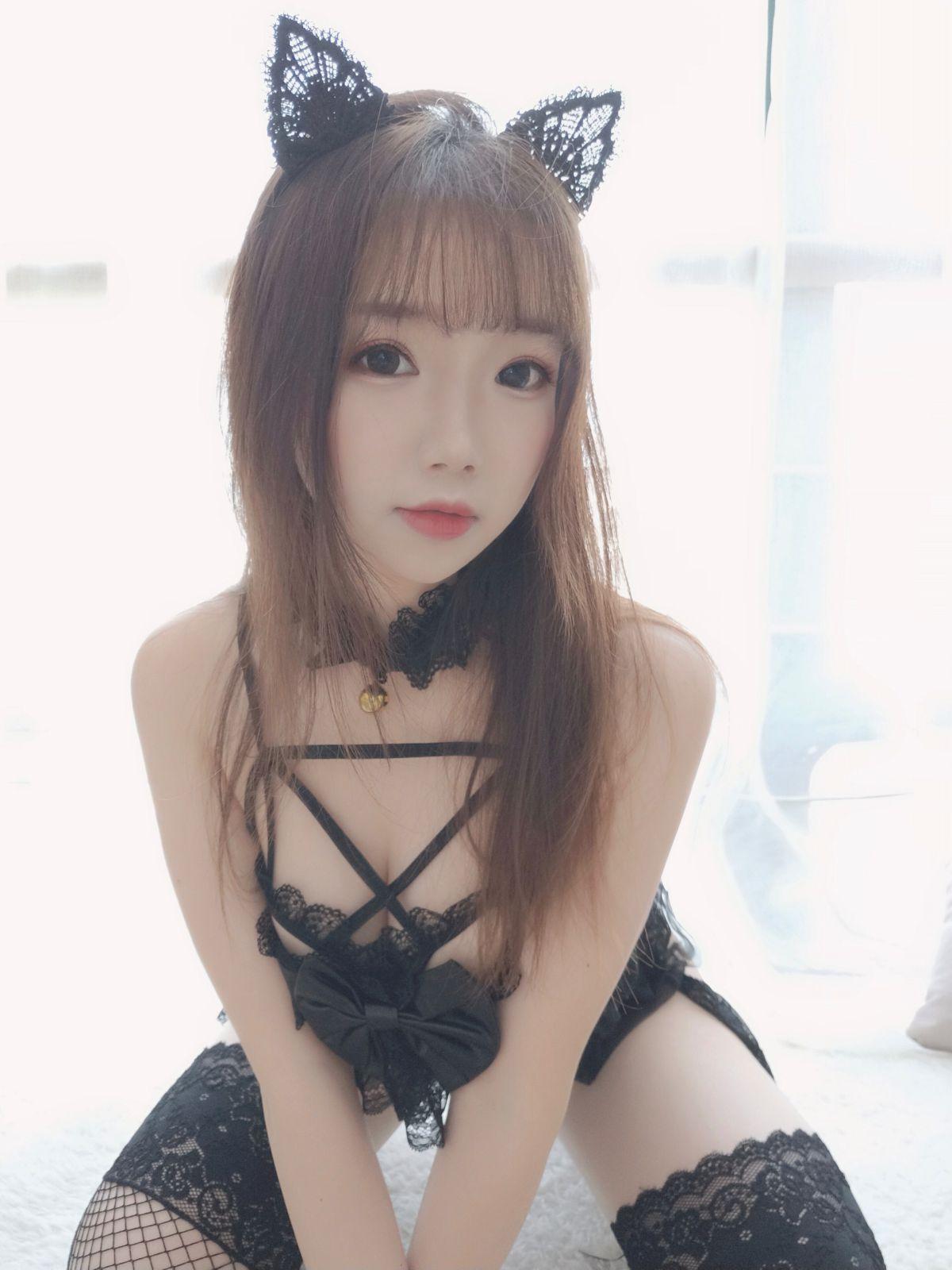 动漫博主雪晴Astra 黑猫猫[64P] 其他套图 第1张