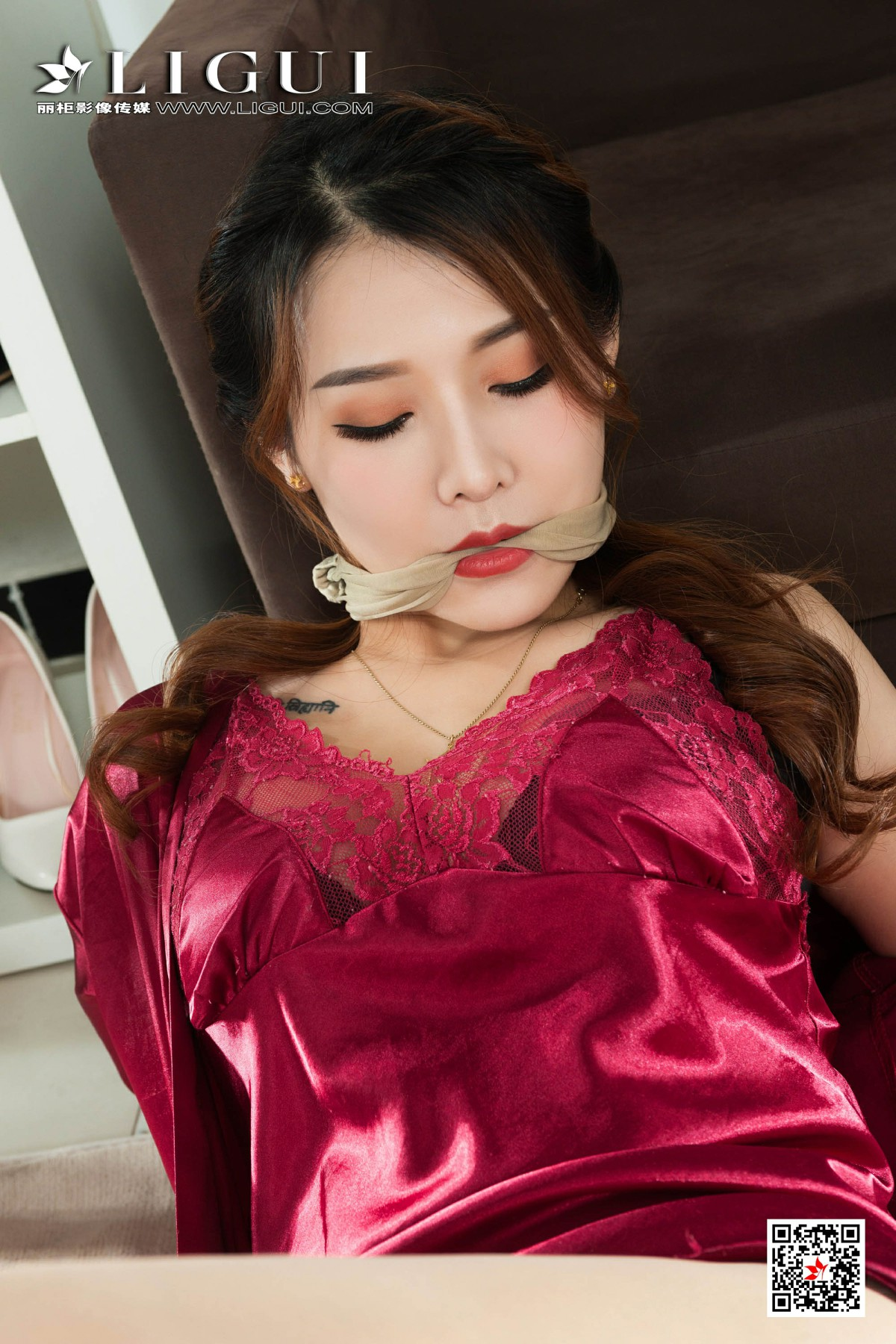 [Ligui丽柜]2020.03.21 网络丽人 Model 文静-第1张图片-福利社