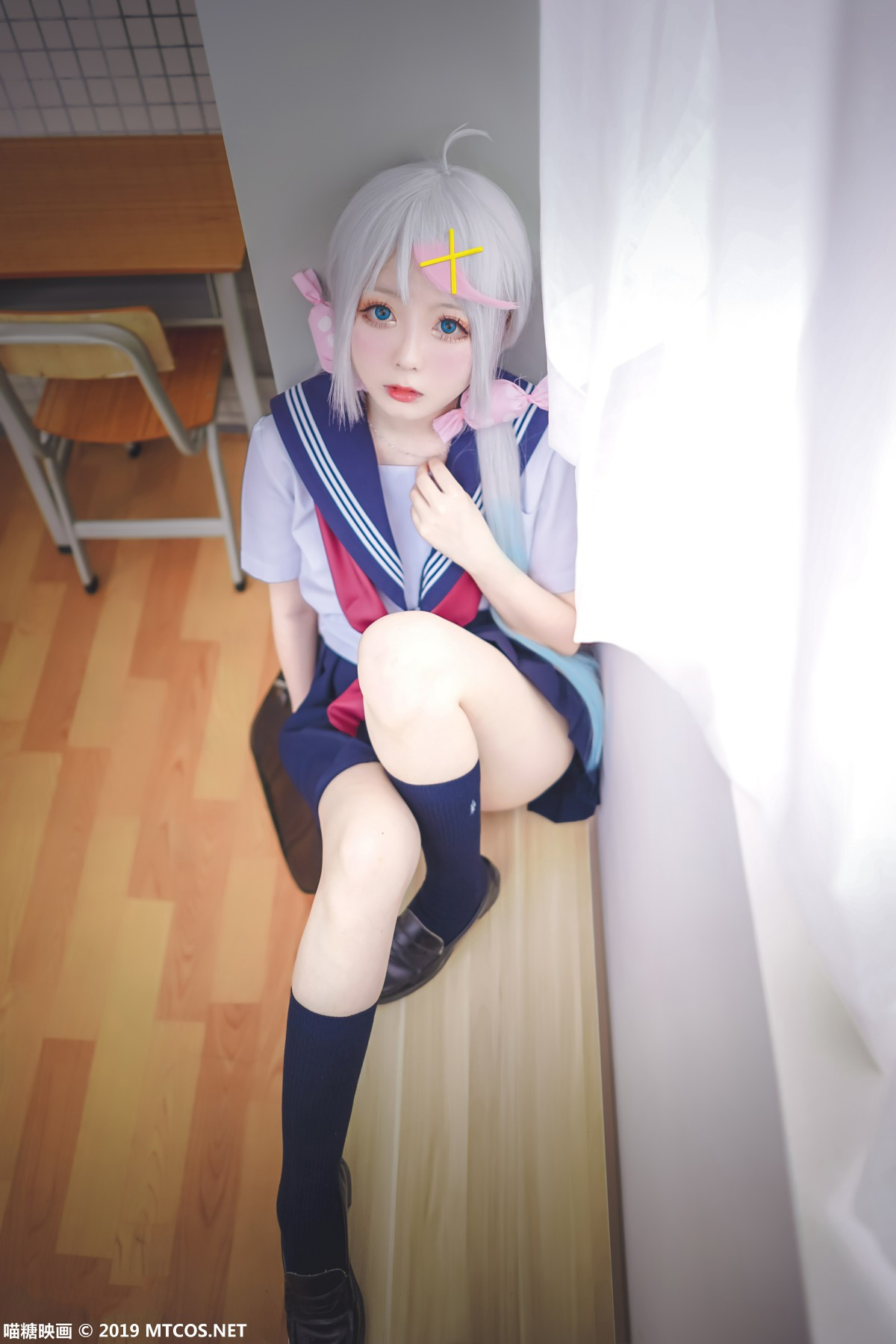 [喵糖映画]VOL.058 嶋葵 甜心小萝莉-第3张图片-福利社