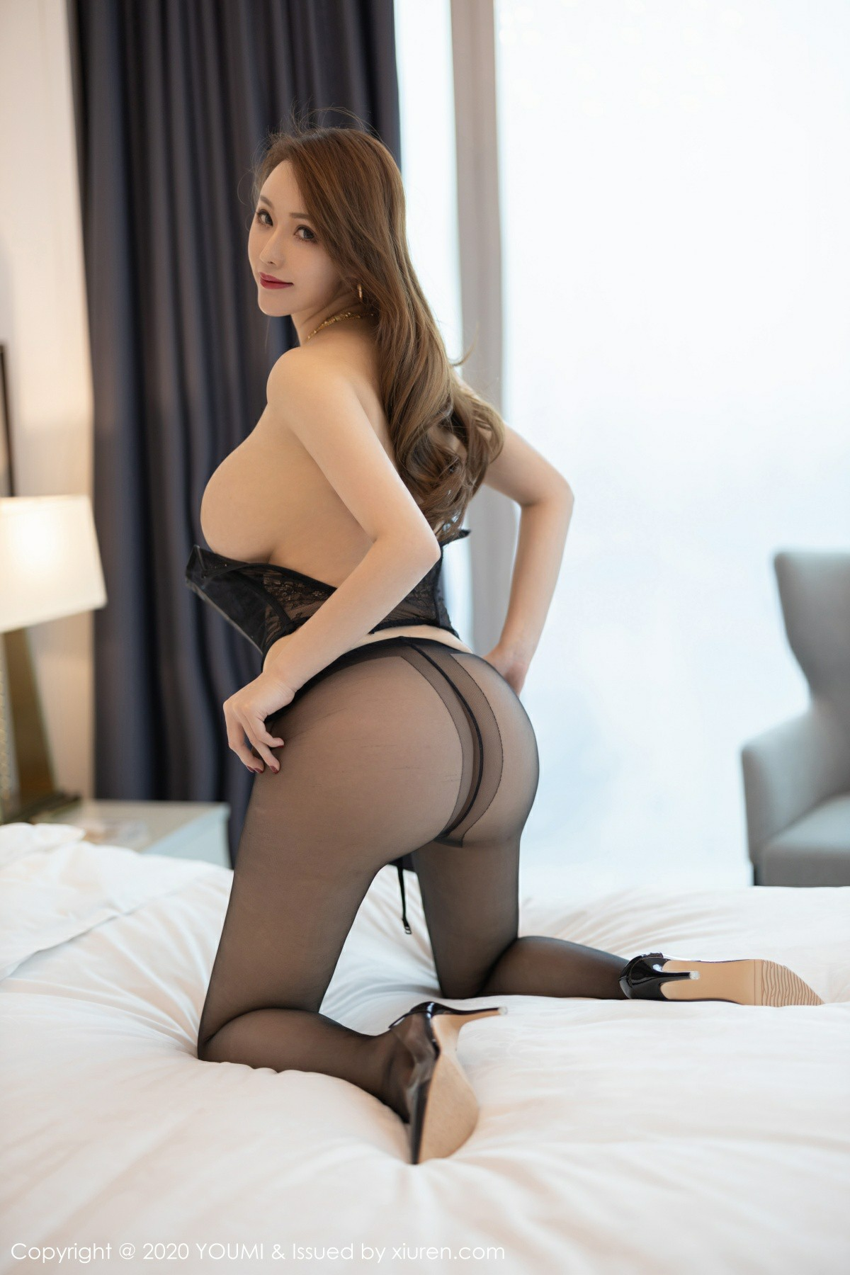 [YOUMI尤蜜荟]2020.04.03 VOL.447 Egg 尤妮丝Egg[56P] 尤蜜荟 第2张