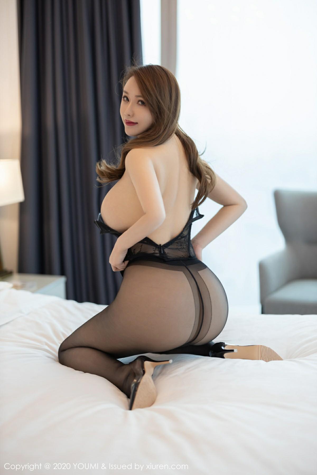 [YOUMI尤蜜荟]2020.04.03 VOL.447 Egg 尤妮丝Egg[56P] 尤蜜荟 第3张