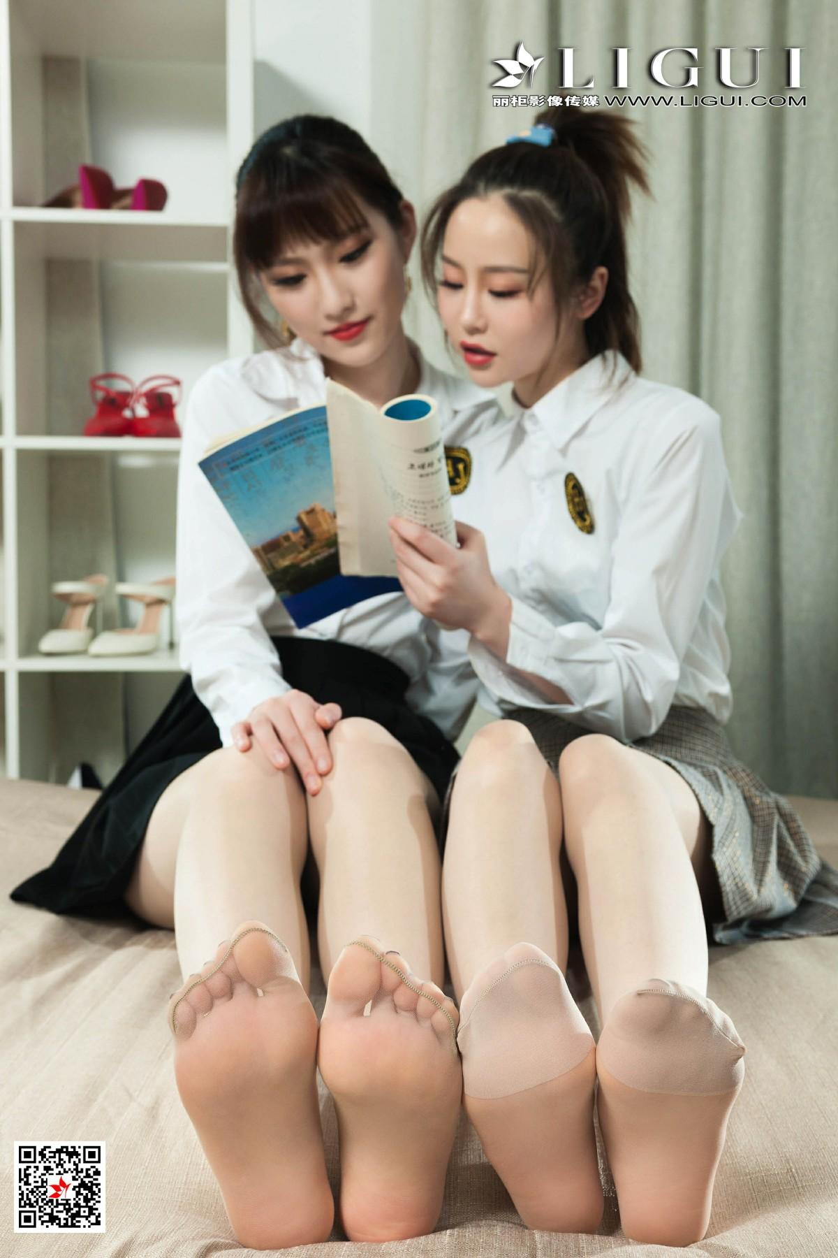 [Ligui丽柜]2020.04.24《闺蜜情丝》阳阳&洋洋 第1张