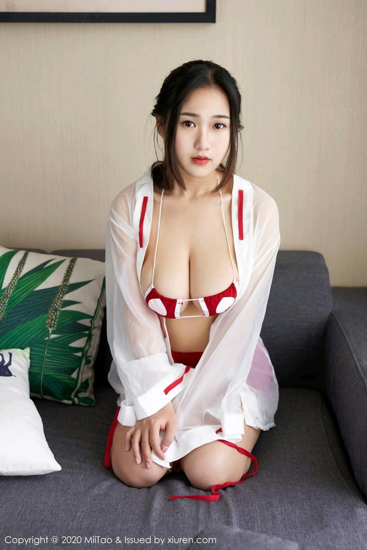 [MiiTao蜜桃社]2020.05.15 VOL.141 默默Momo 第4张