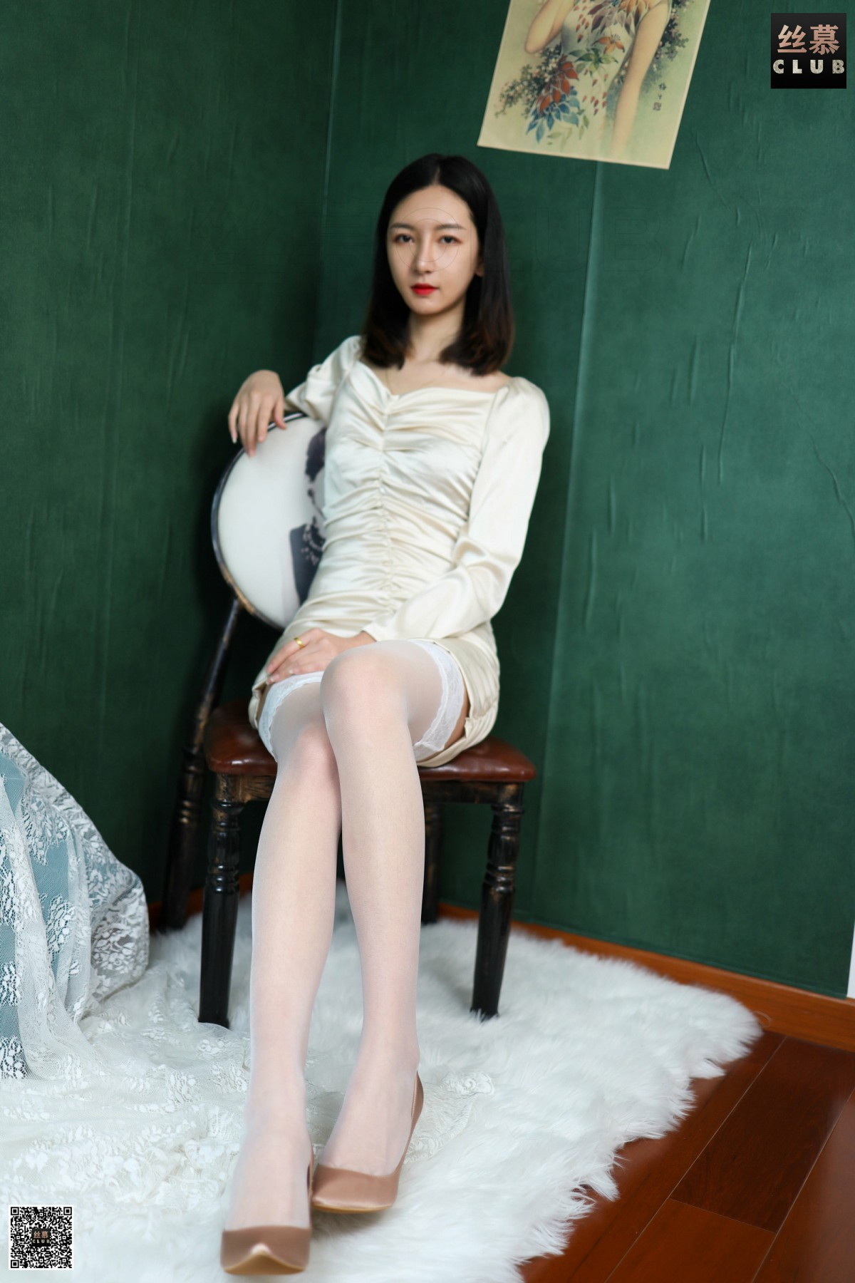 丝慕写真 SM187 茗茗 – 白丝控 第4张