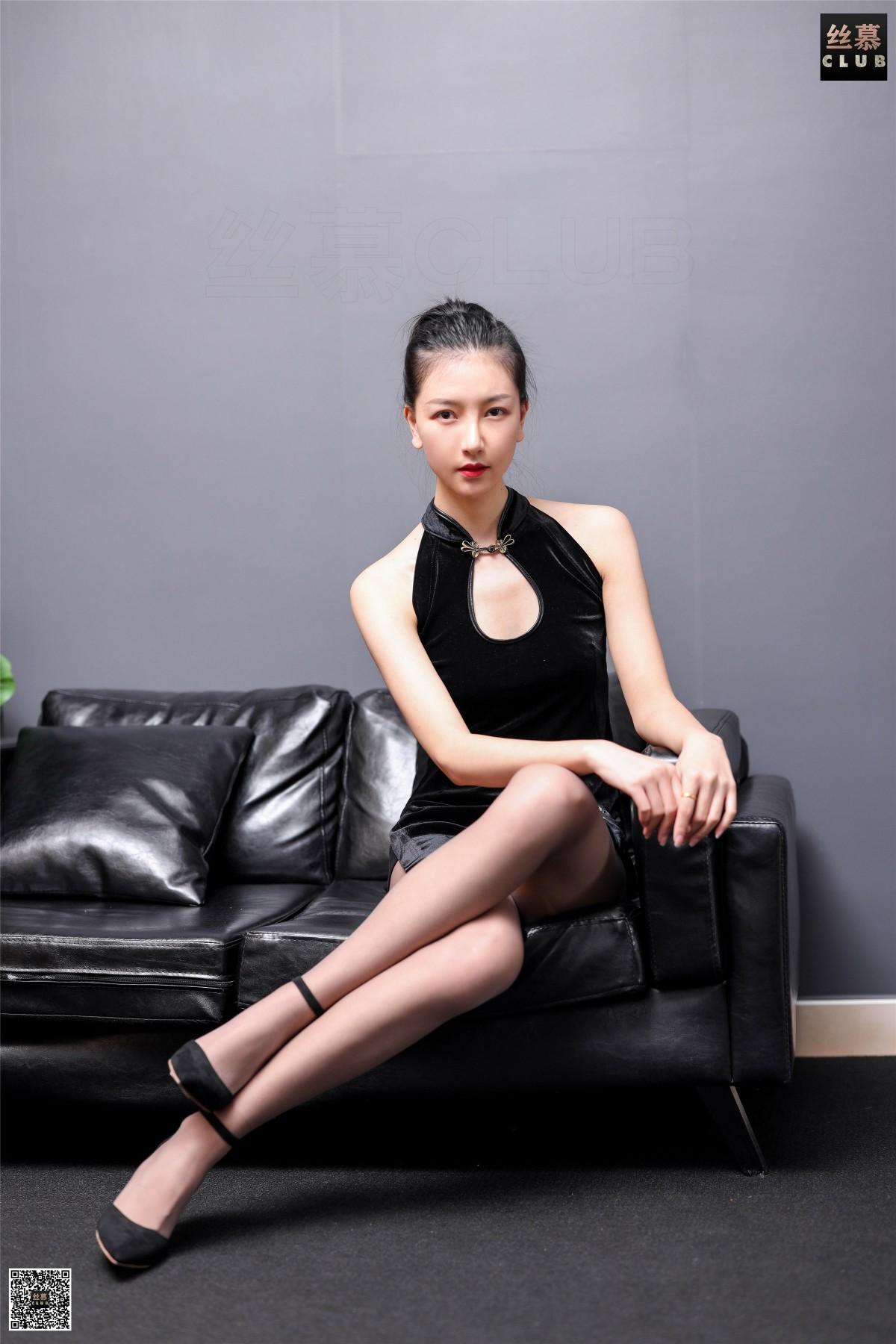 丝慕写真 SM183 茗茗 – 旗丝欲袍 第3张