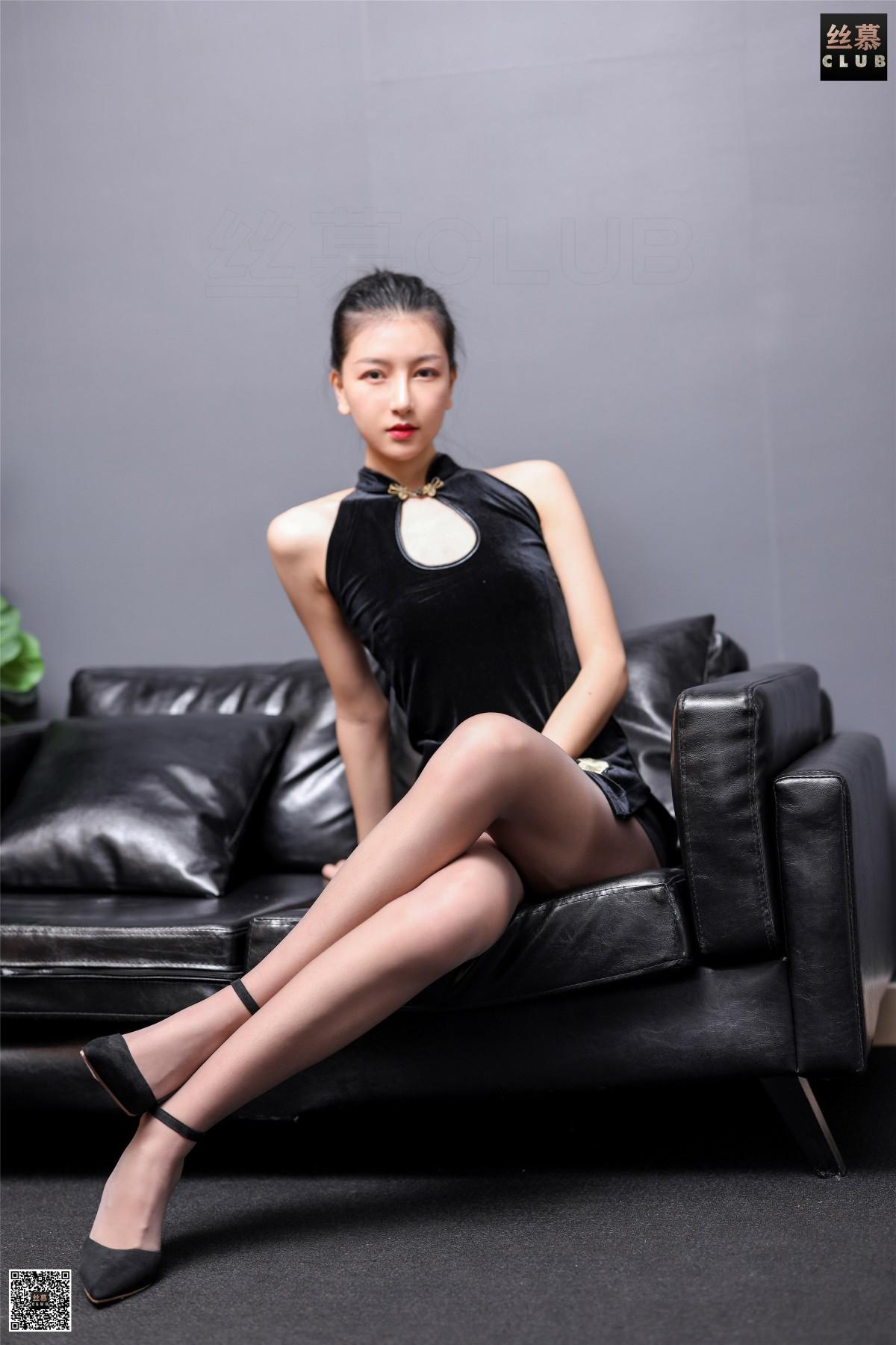 丝慕写真 SM183 茗茗 – 旗丝欲袍 第4张