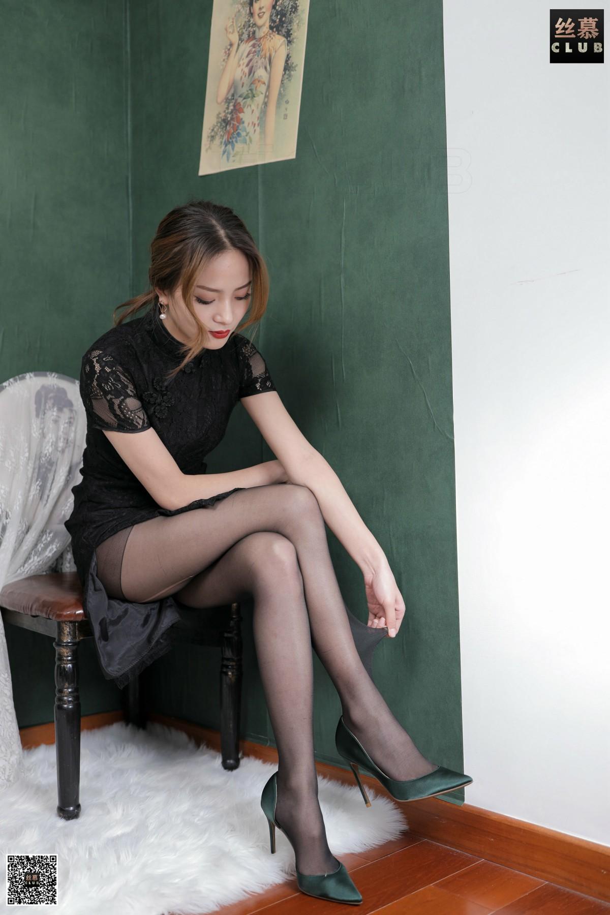 丝慕写真 SM172 MIYA - 旗袍的韵味 第1张