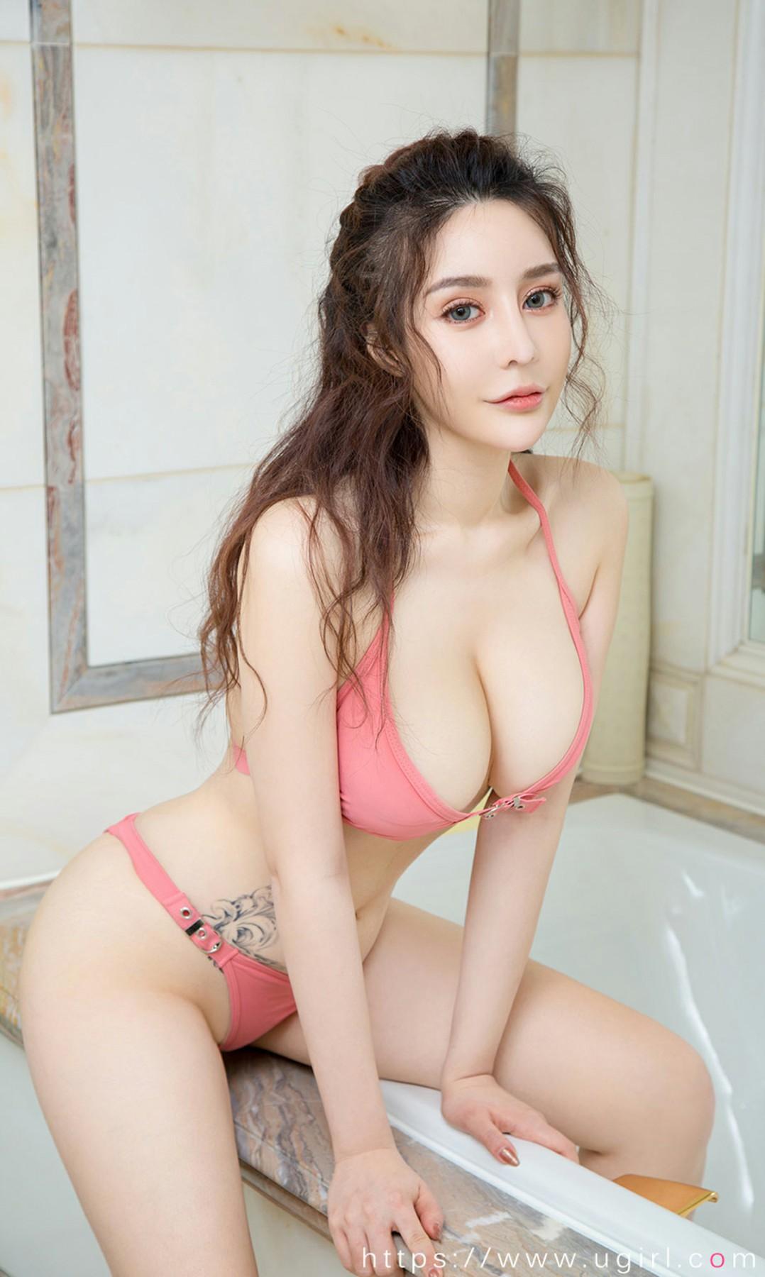[Ugirls尤果网]爱尤物专辑 2020.05.16 No.1823 兔兔 蜜粉萌兔 第3张