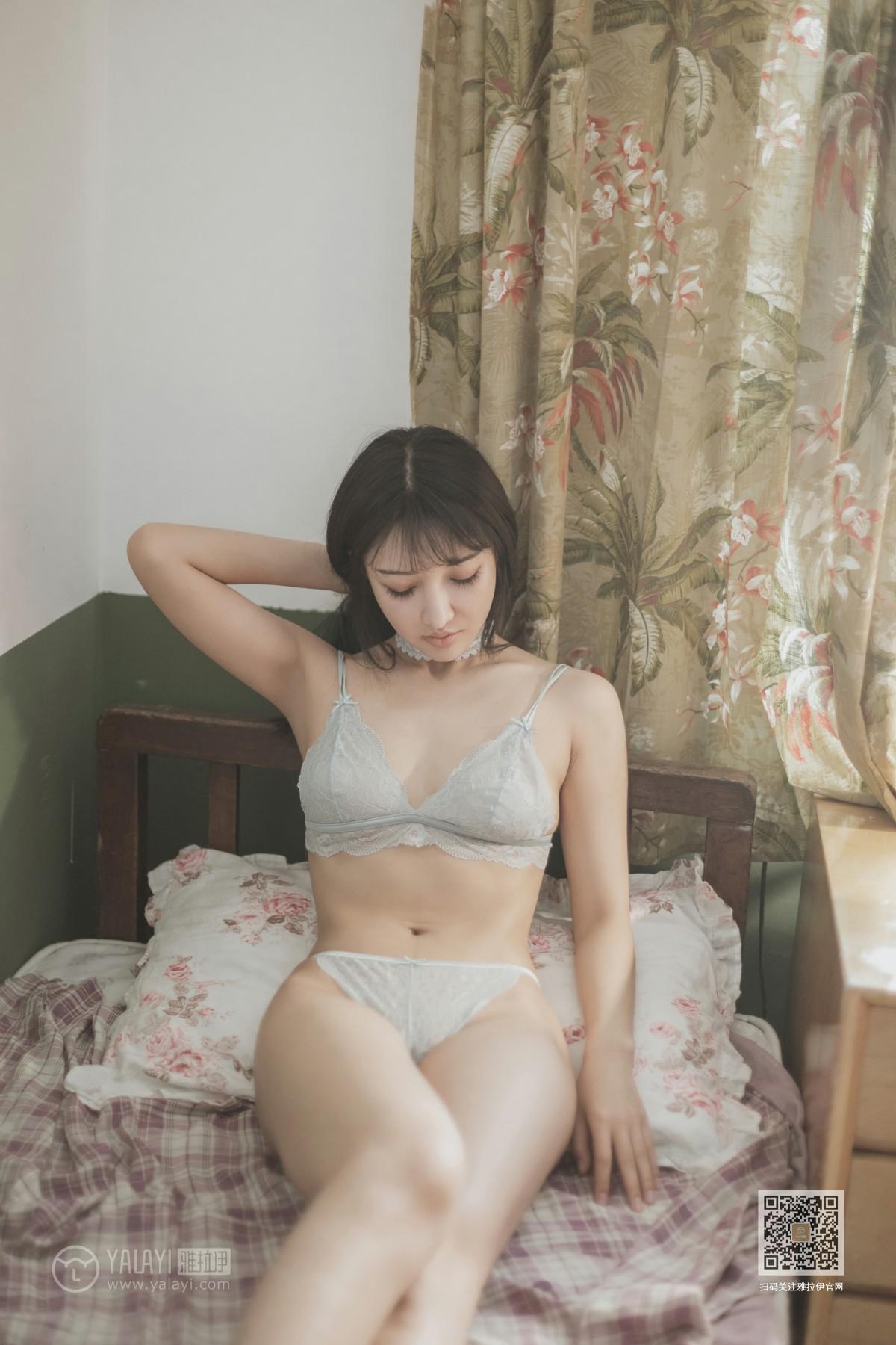 [YALAYI雅拉伊] 2020.01.07 Y512 韩熙 杏色女孩儿 第4张