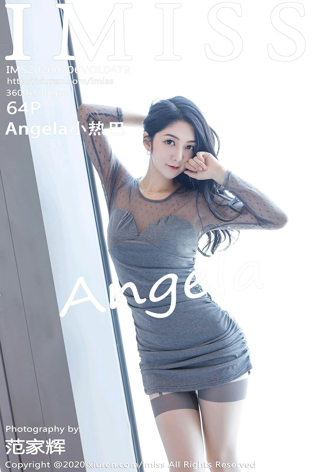 [IMISS爱蜜社] 2020.07.06 VOL.479 Angela小热巴 第1张