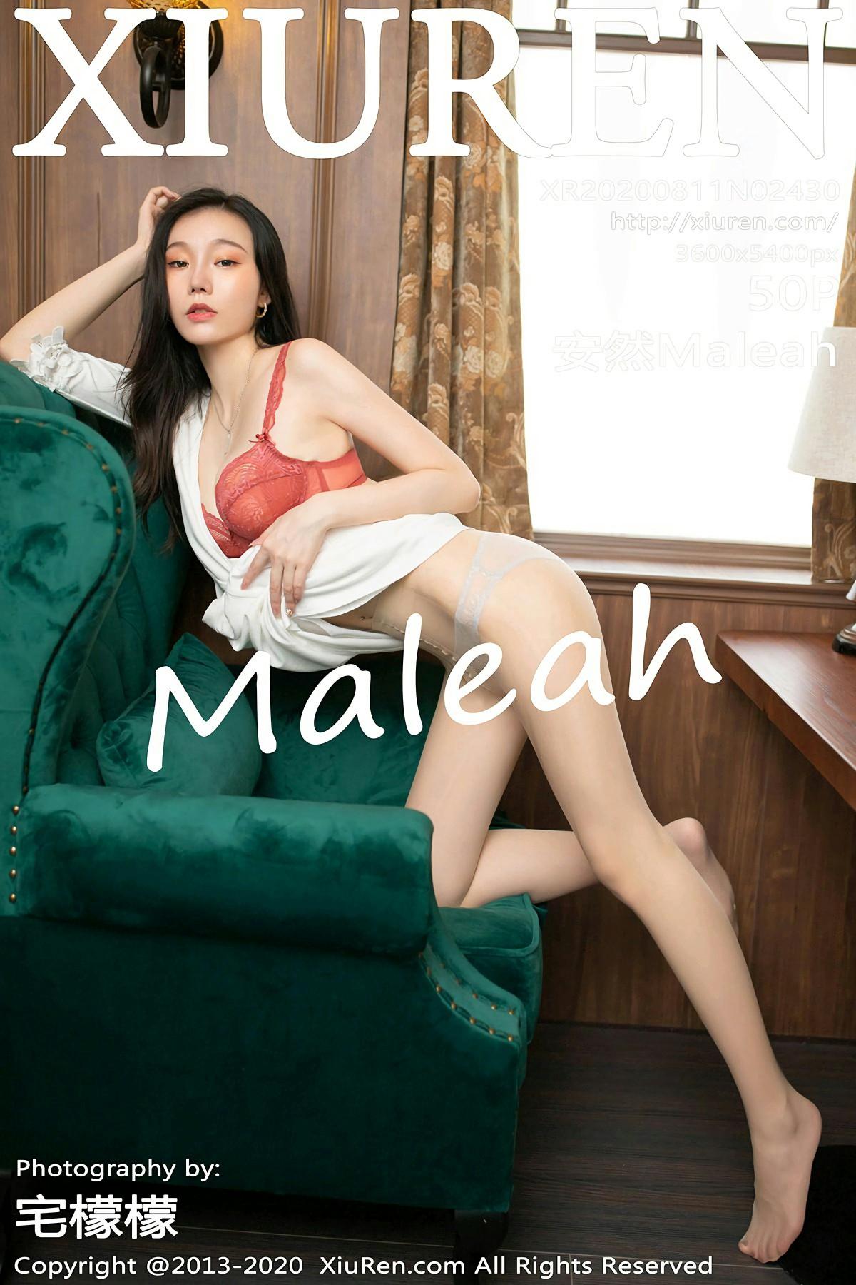 [XiuRen秀人网] 2020.08.11 No.2430 安然Maleah 第1张