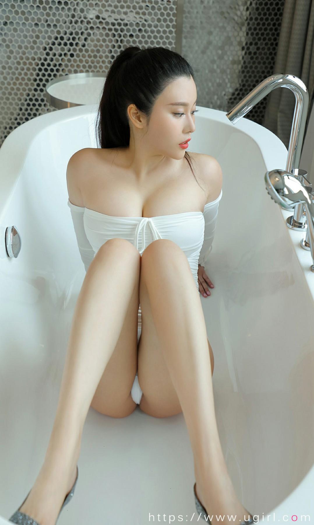 [Ugirls尤果网]爱尤物 2020.07.31 No.1877 钟晴 蓝精灵 第3张